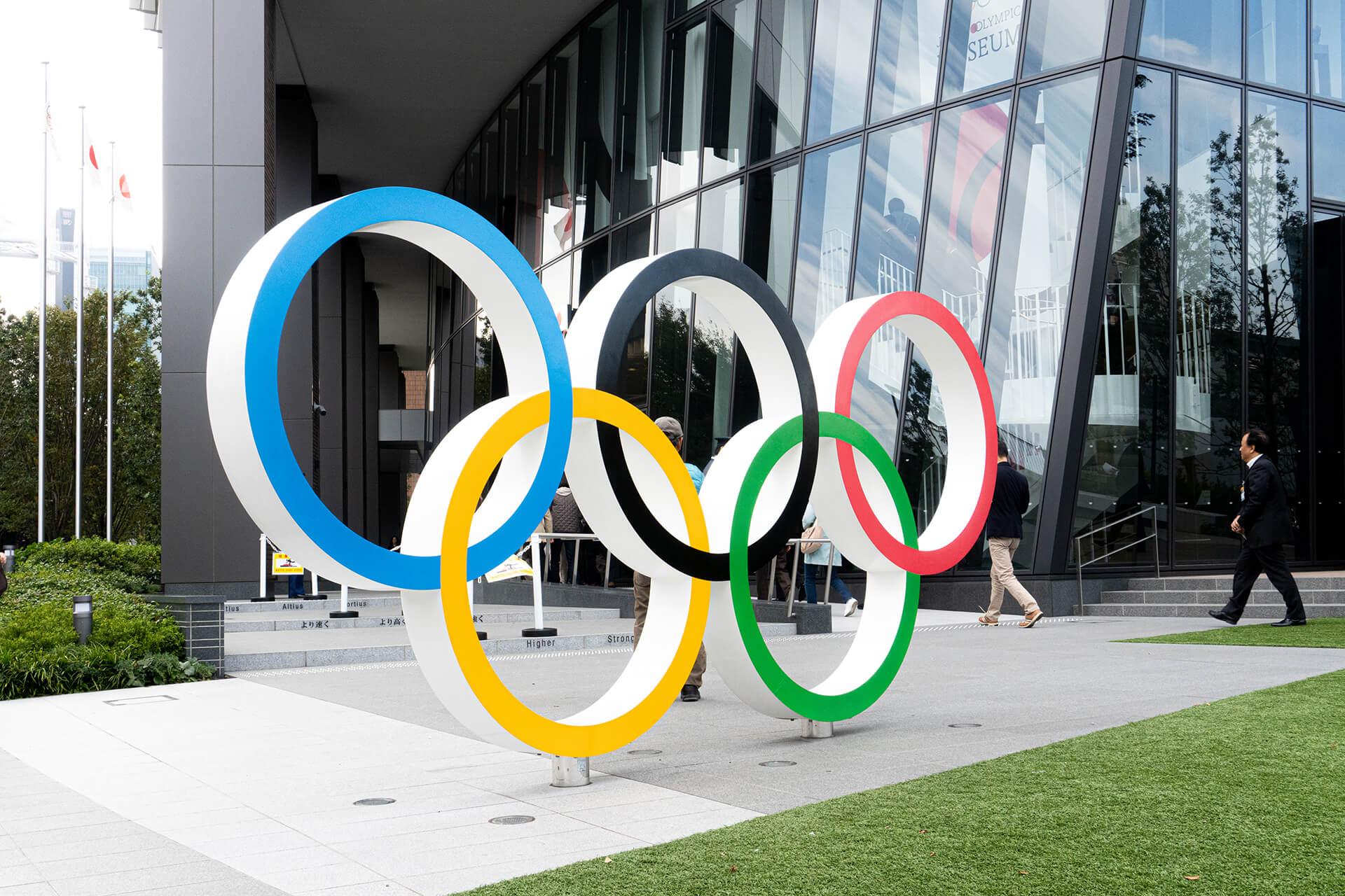 日本オリンピックミュージアム・入り口