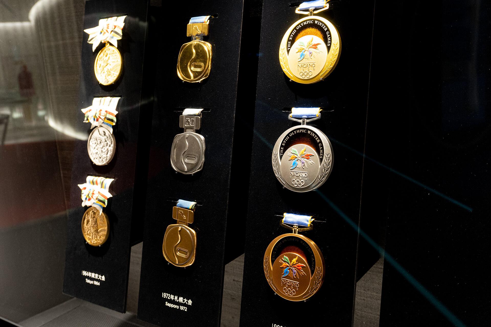 日本オリンピックミュージアム・展示物