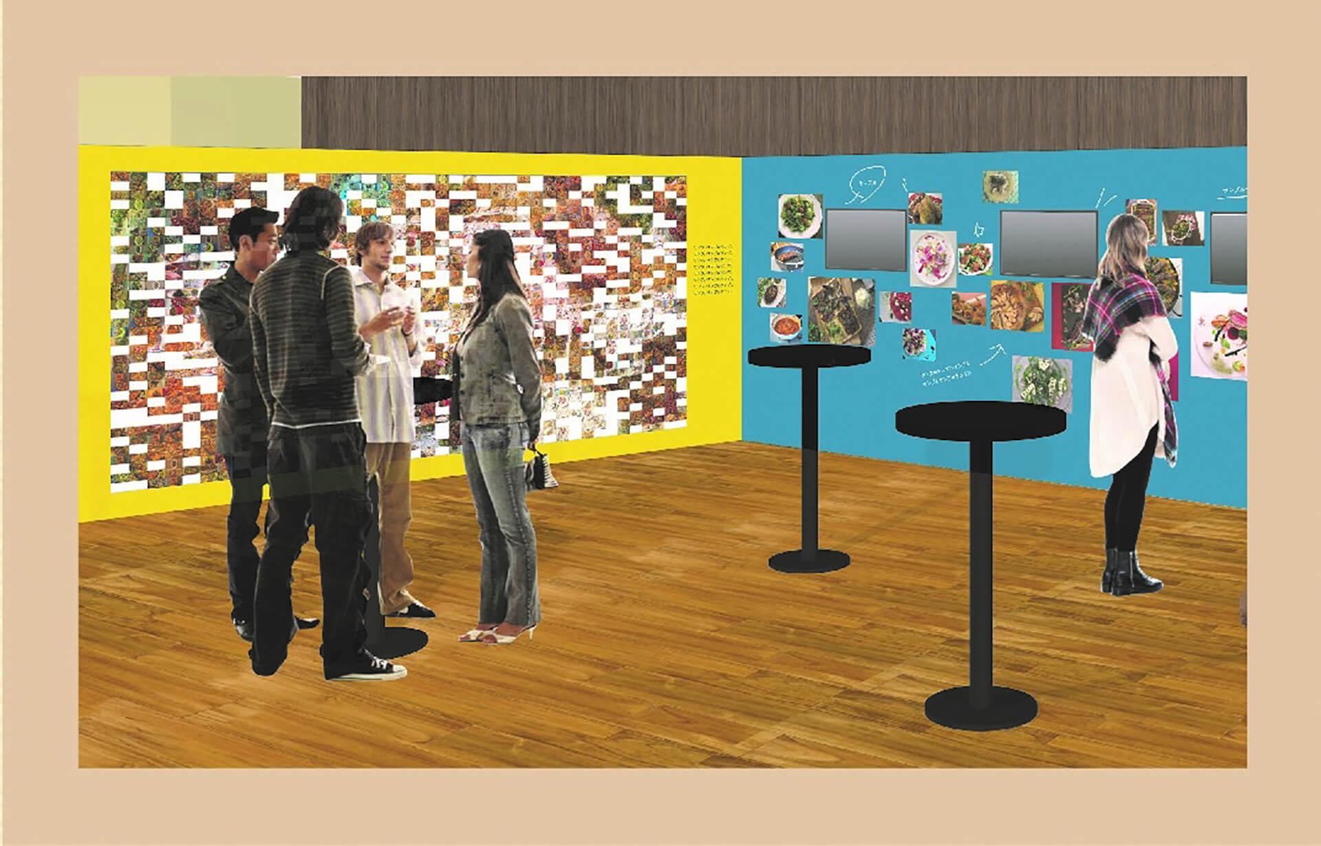 速水もこみち Food Trip 料理の世界展・MOSAIC ART & MOVIE