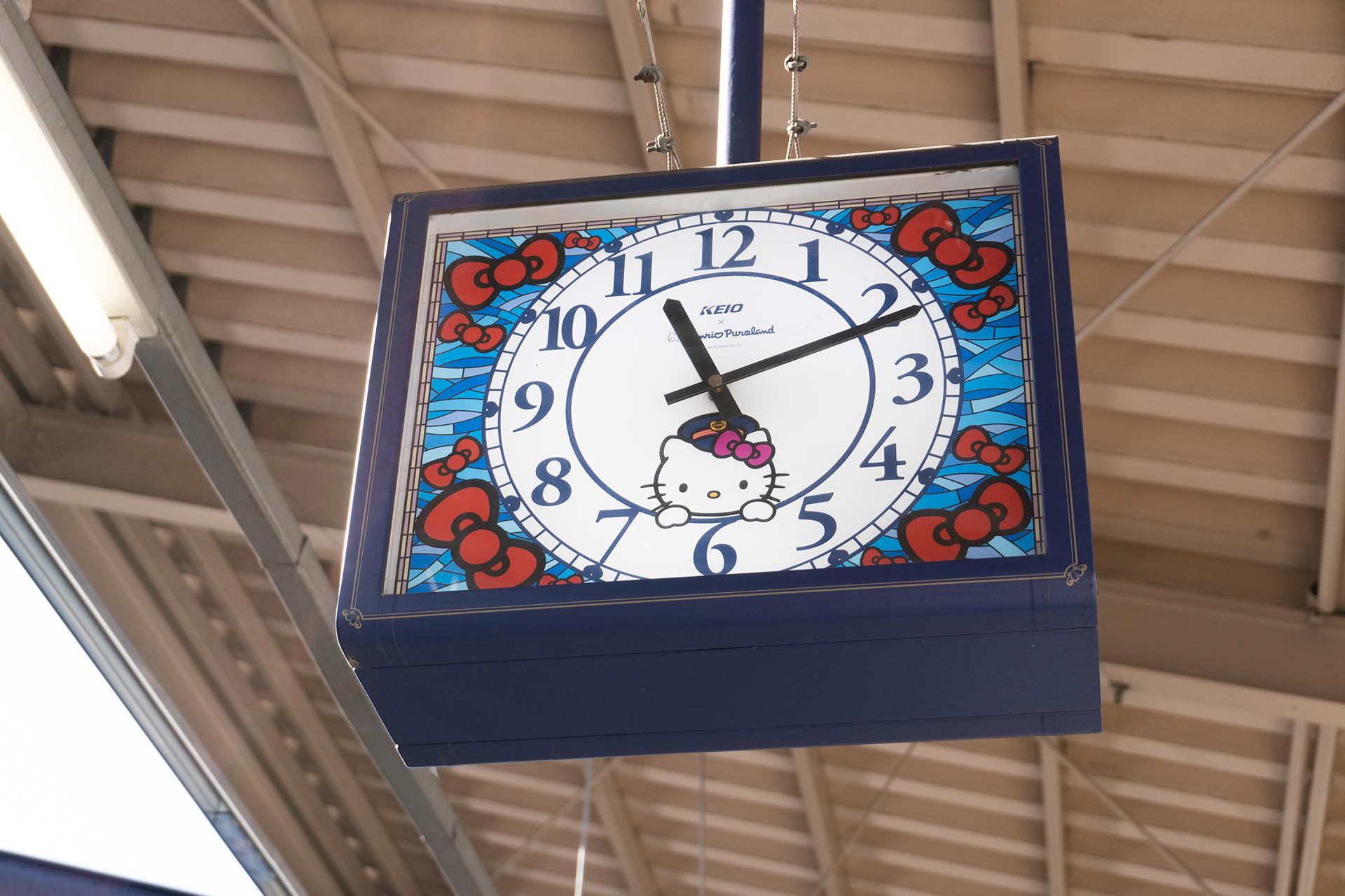 多摩センター駅時計