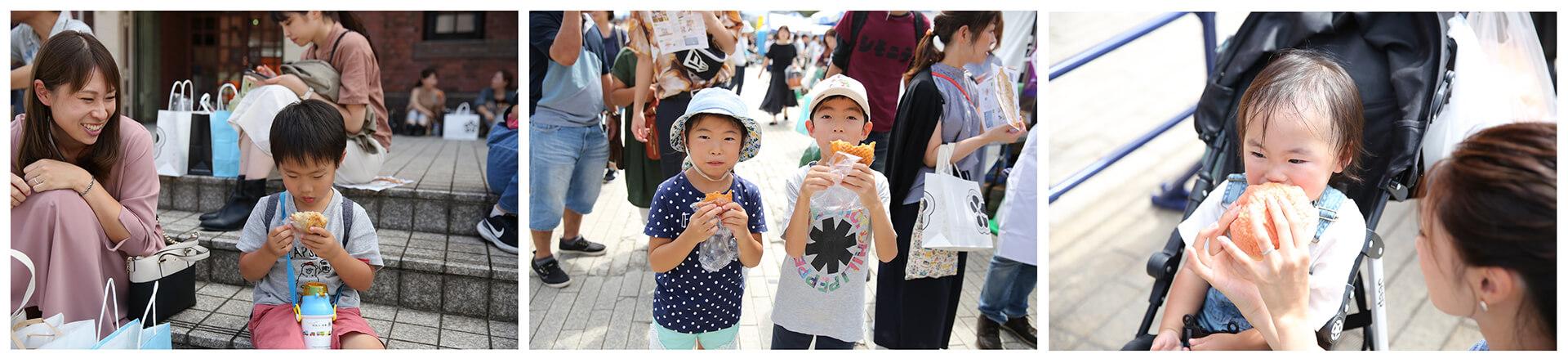 パンのフェス2020春 in 横浜赤レンガ会場風景
