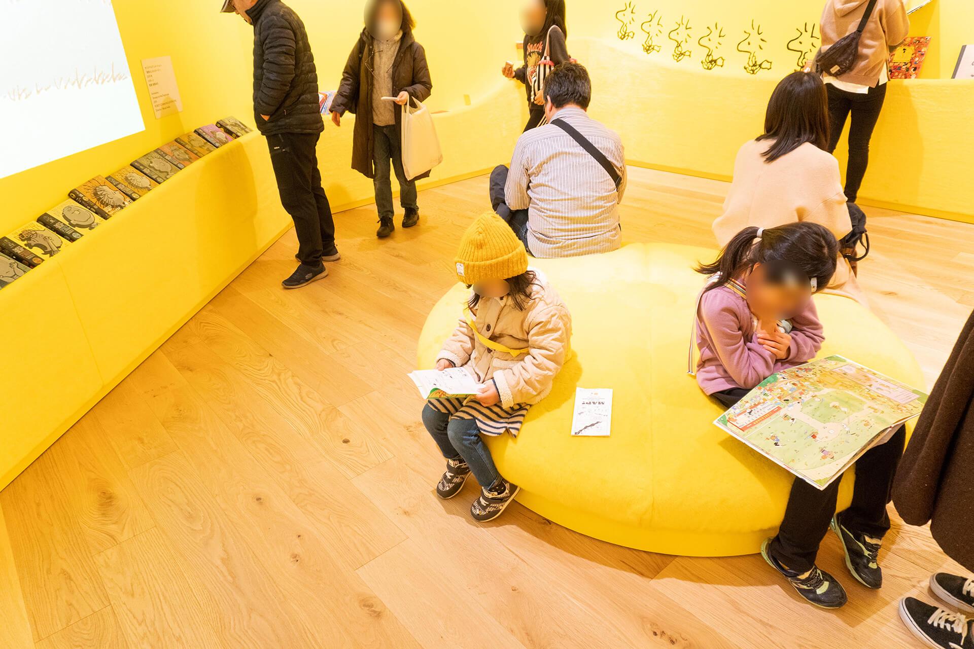 スヌーピーミュージアム東京・ウッドストックルーム