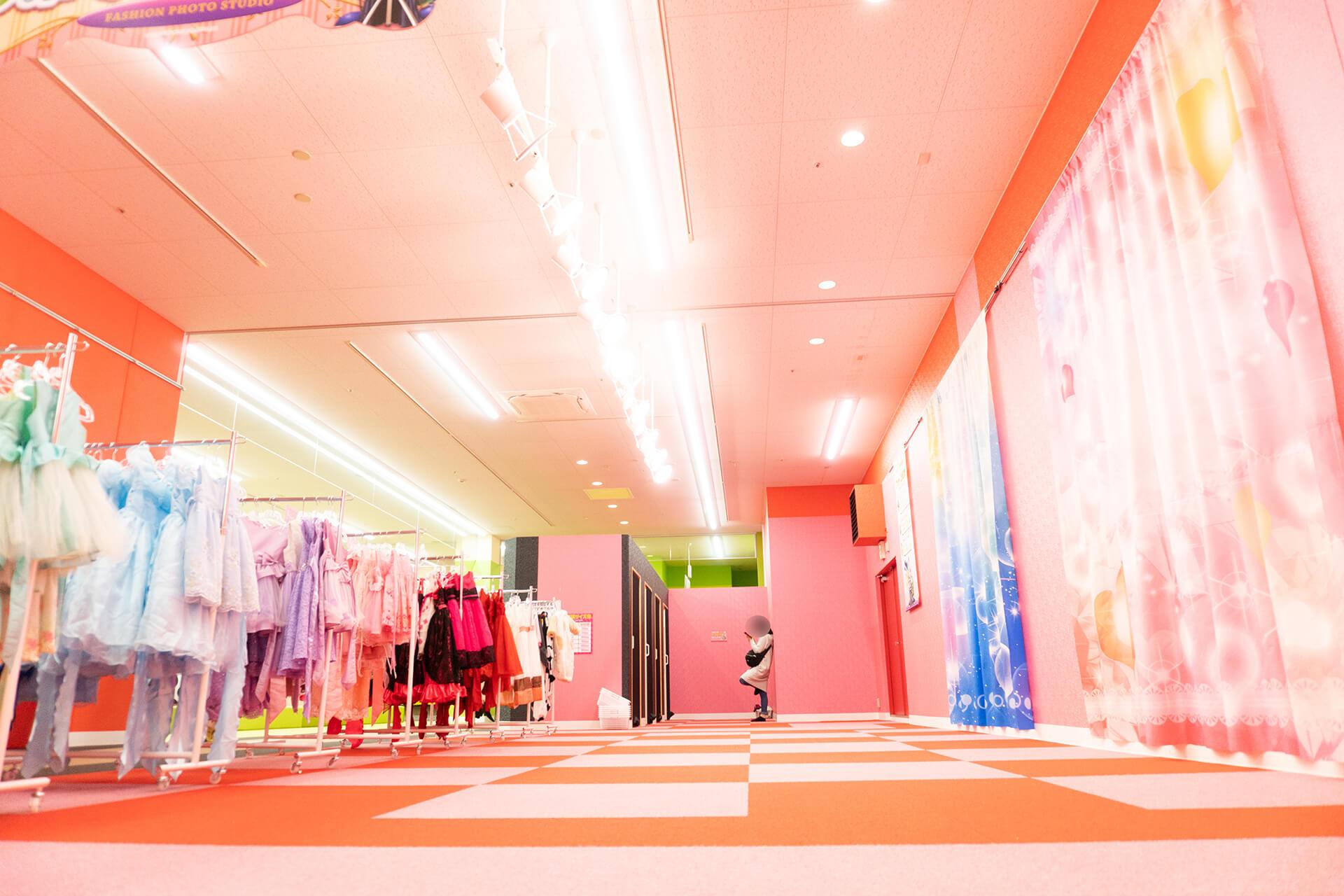 ファンタジーキッズリゾート・ファッションフォトスタジオ