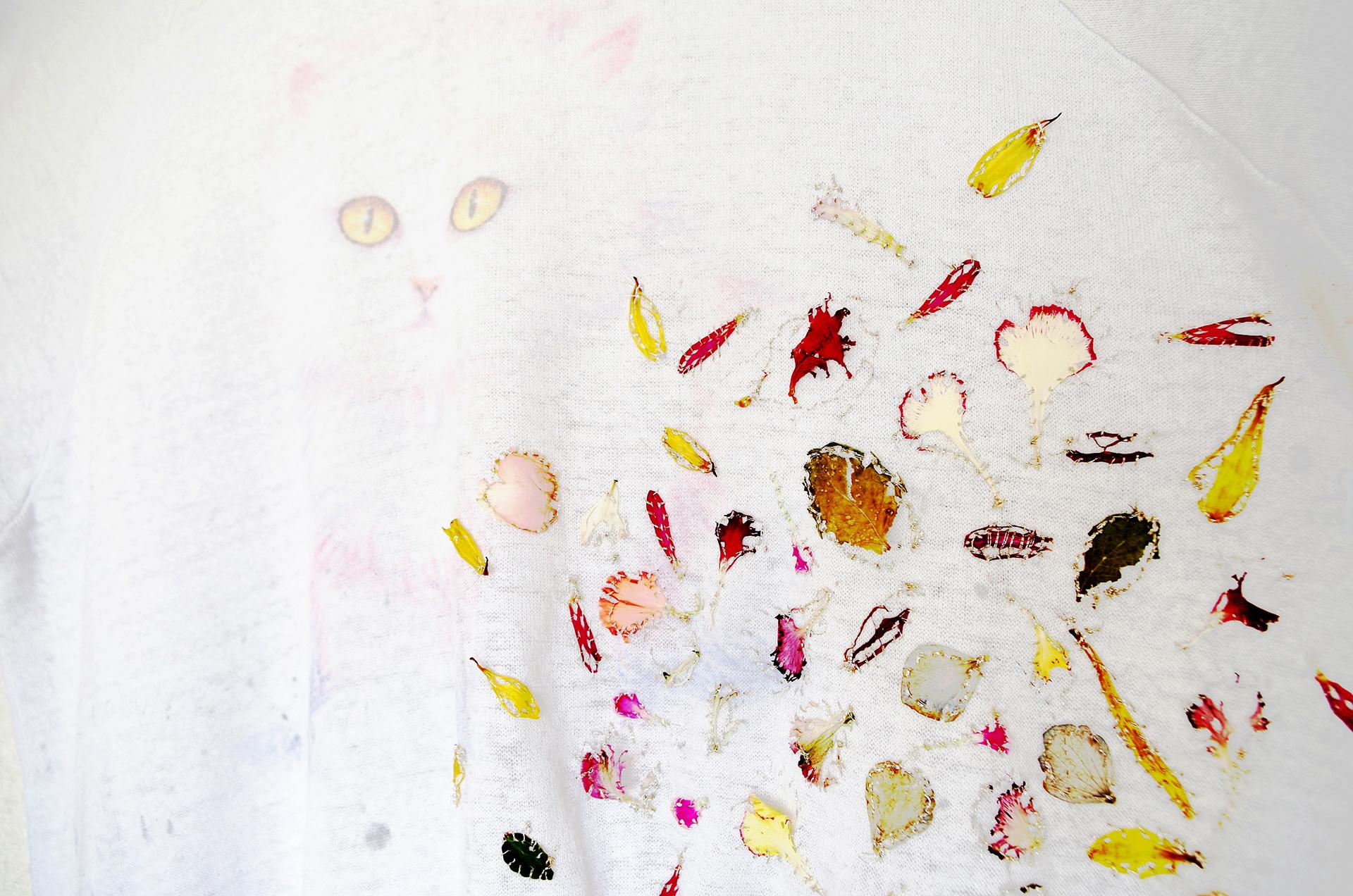 柵瀬茉莉子展 いのちを縫う・作品例