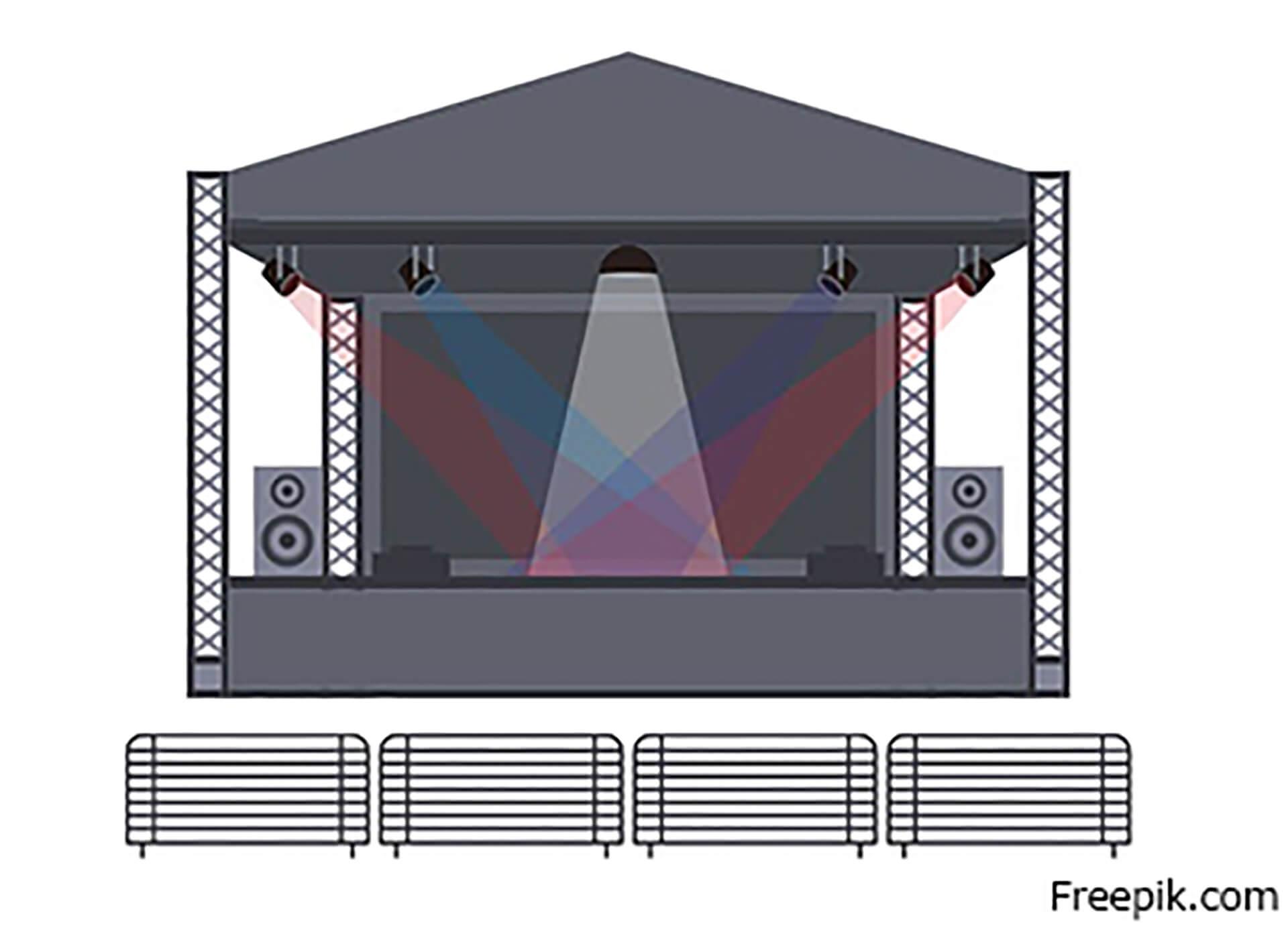 ロシア・ユーラシア文化祭『プラーズニク』ステージイメージ