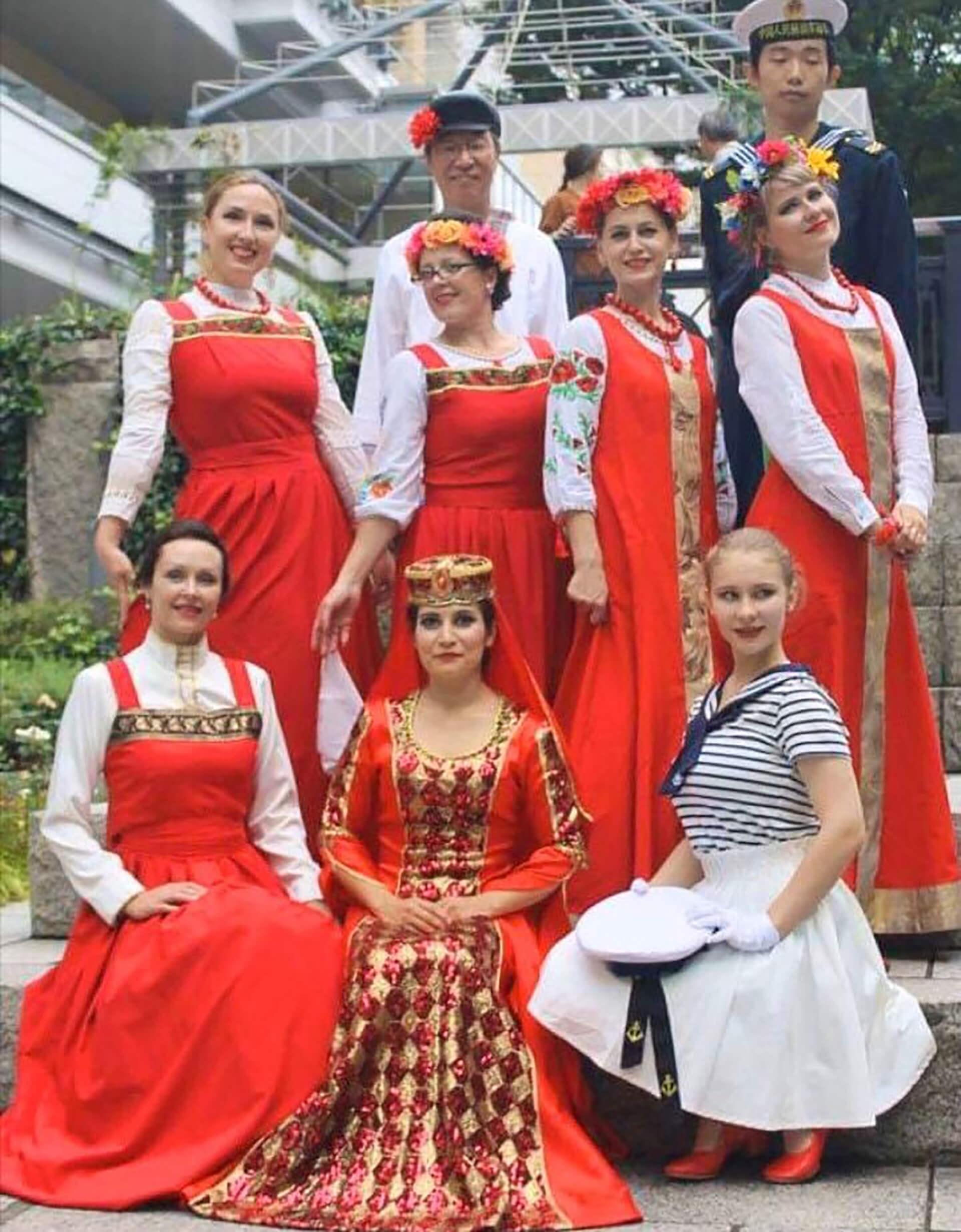 ロシア・ユーラシア文化祭『プラーズニク』スラブ民族舞踊団体