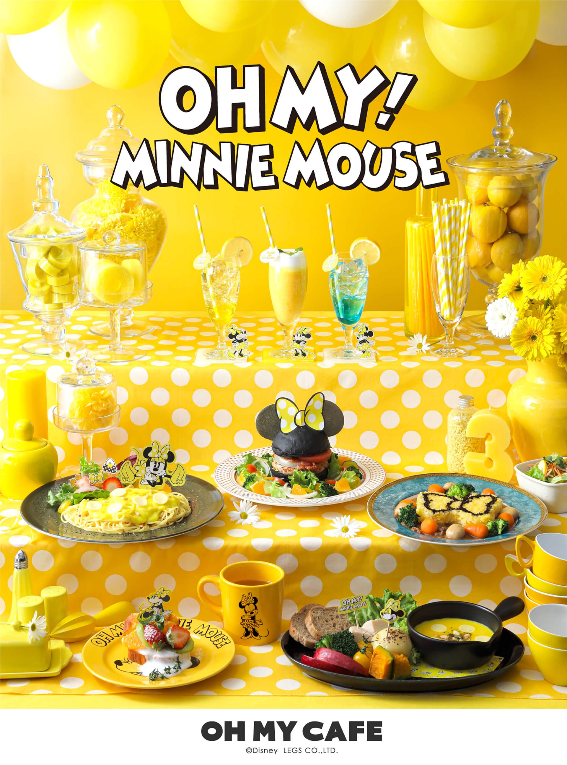 OH MY!MINNIE MOUSEバナー