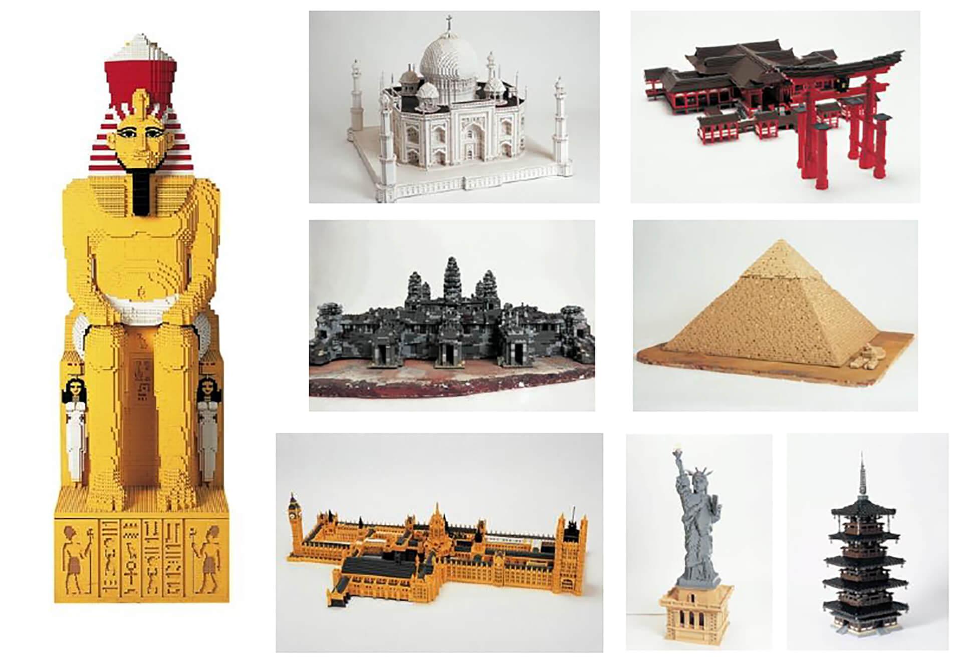 PIECE OF PEACE 『レゴ(R)ブロック』で作った世界遺産展 PART-4・展示品