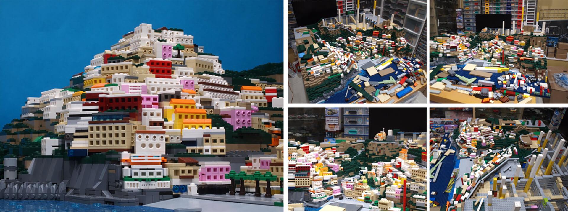 PIECE OF PEACE 『レゴ(R)ブロック』で作った世界遺産展 PART-4・製作過程