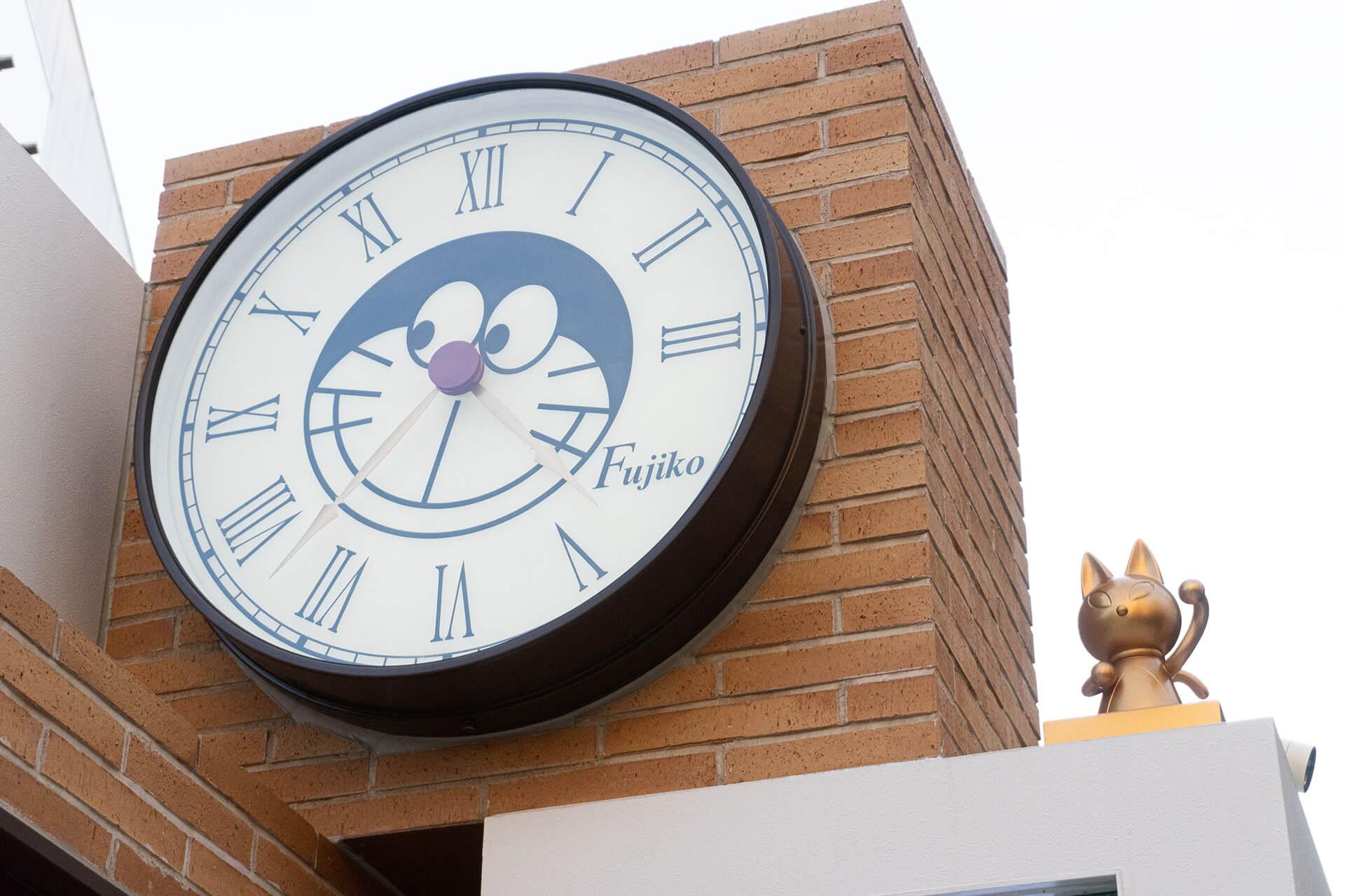 ダイバーシティ・ドラえもん時計