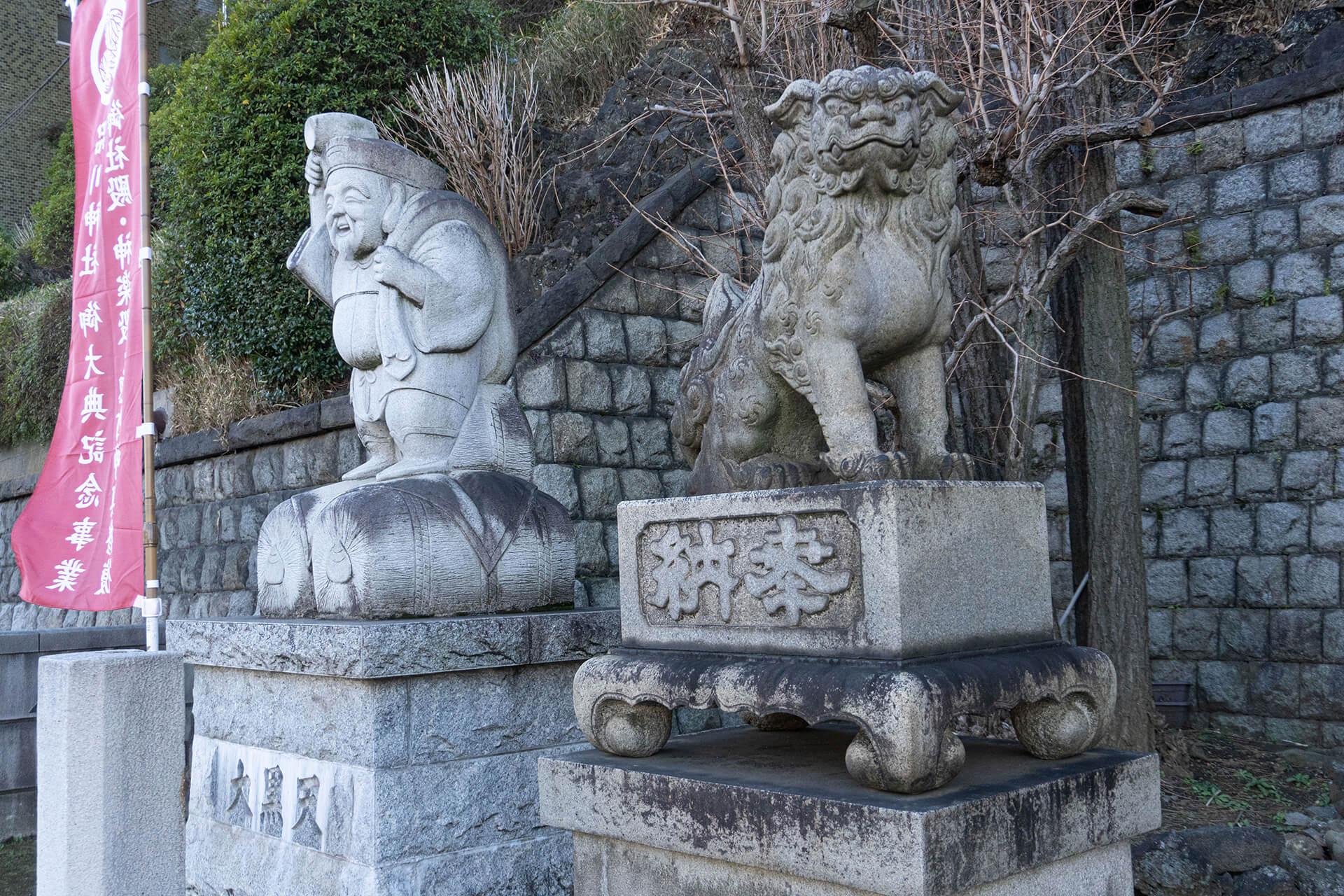 品川神社狛犬
