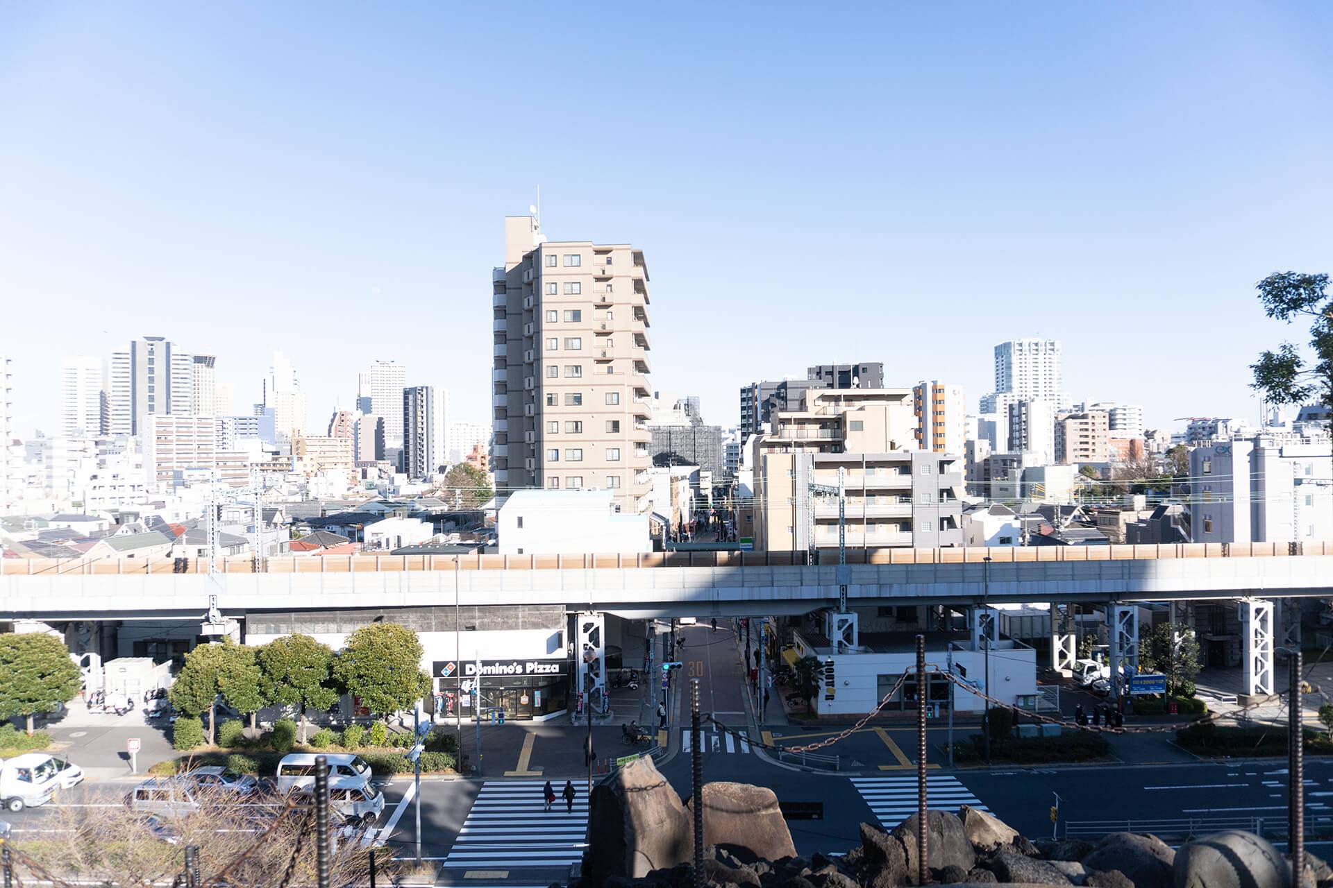 品川神社・富士塚