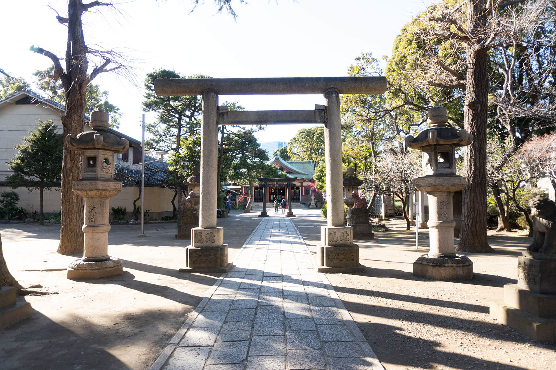 品川神社・鳥居