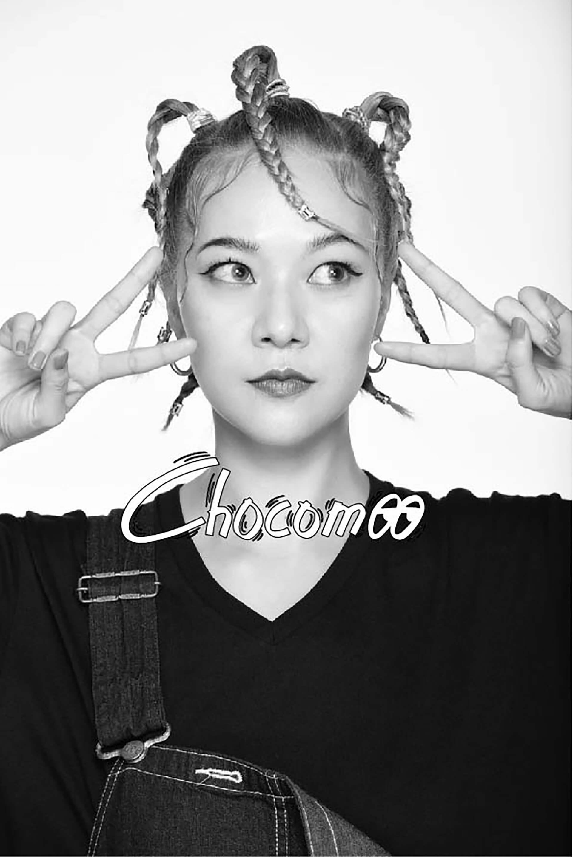 Chocomoo(チョコムー)個展・本人