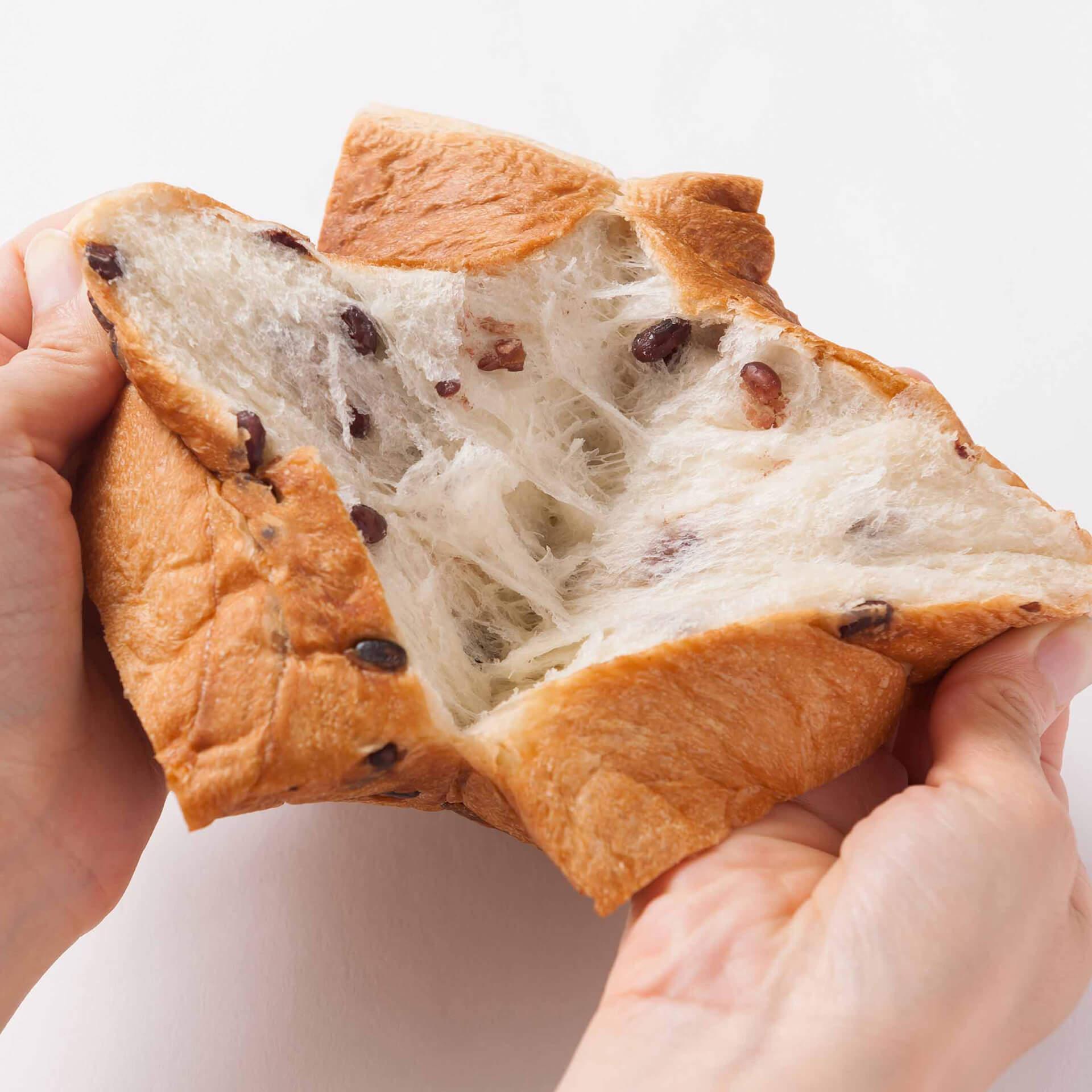 高級食パン専門店『あずき』通信・カットモデル