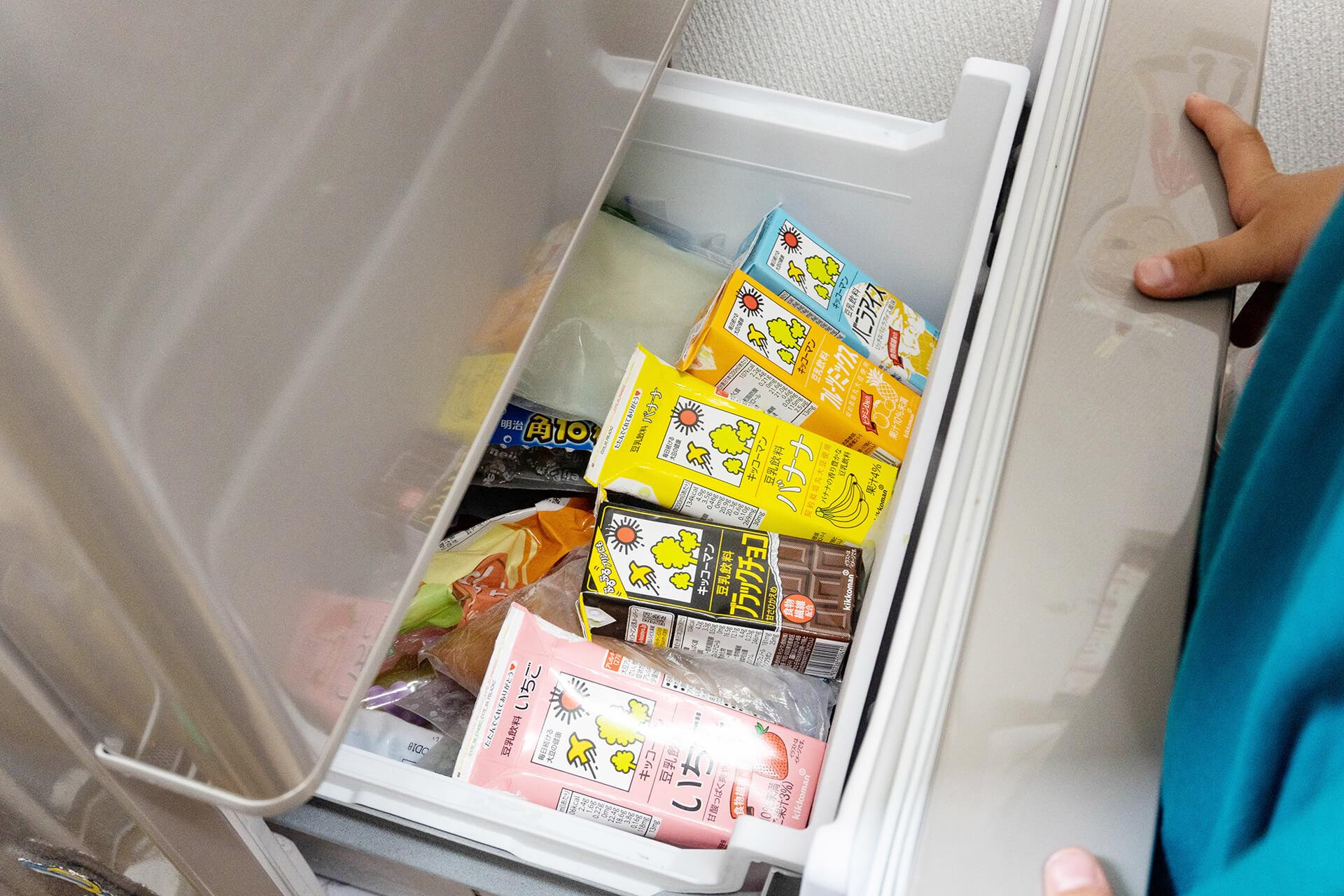 キッコーマン・豆乳凍らす
