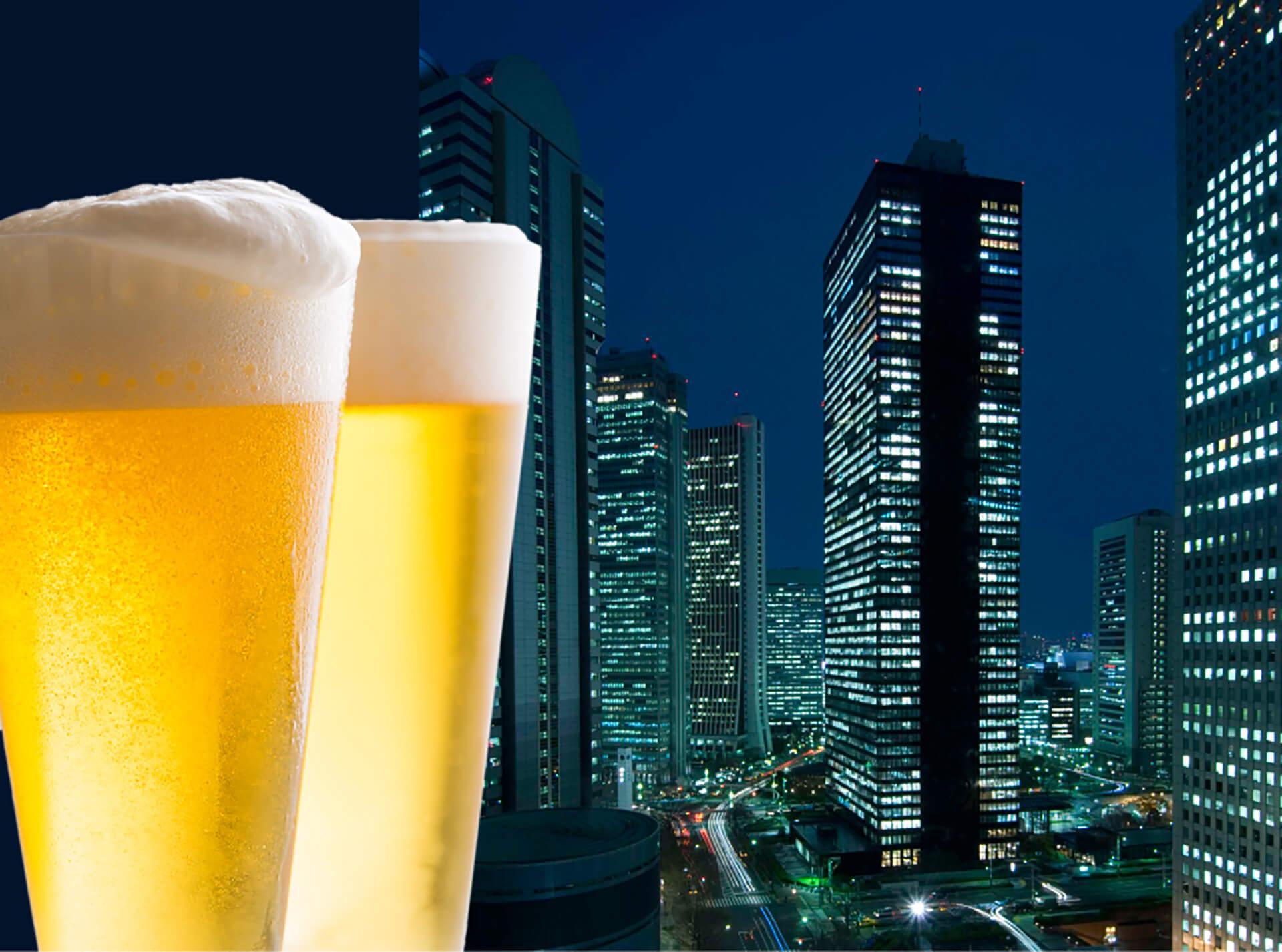 ヒルトン東京 2020年天空のビアガーデン