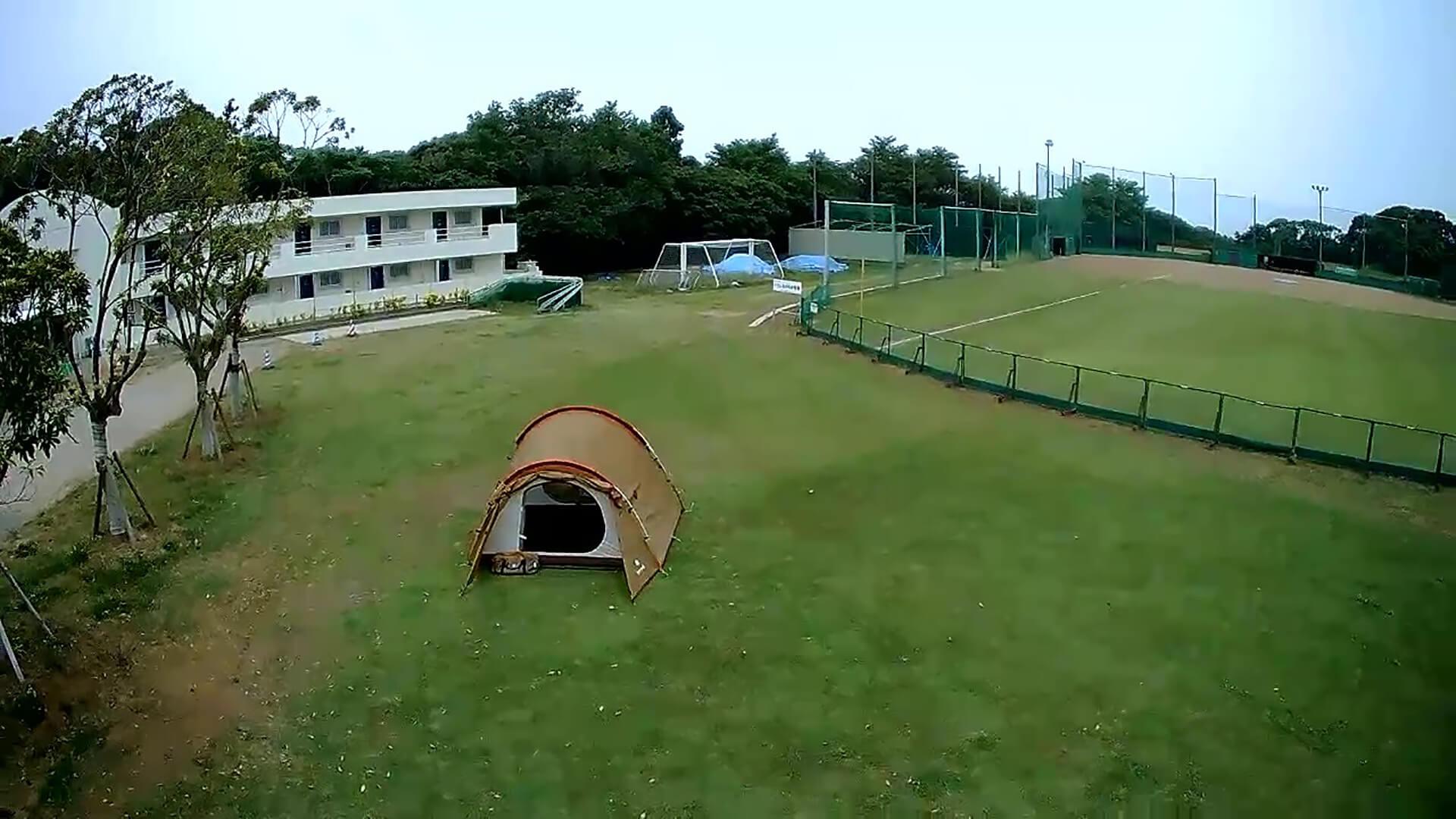 銚子スポーツタウン『外野でキャンプ』