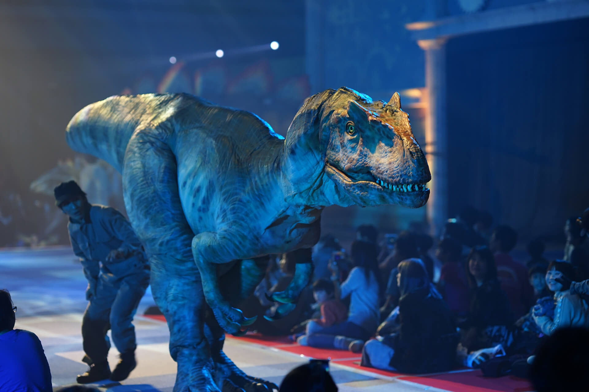 、「DINO-A-LIVE『不思議な恐竜博物館』 in TACHIKAWA」