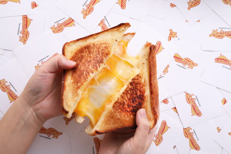 グリルドチーズサンドイッチブランド「Meltyman」
