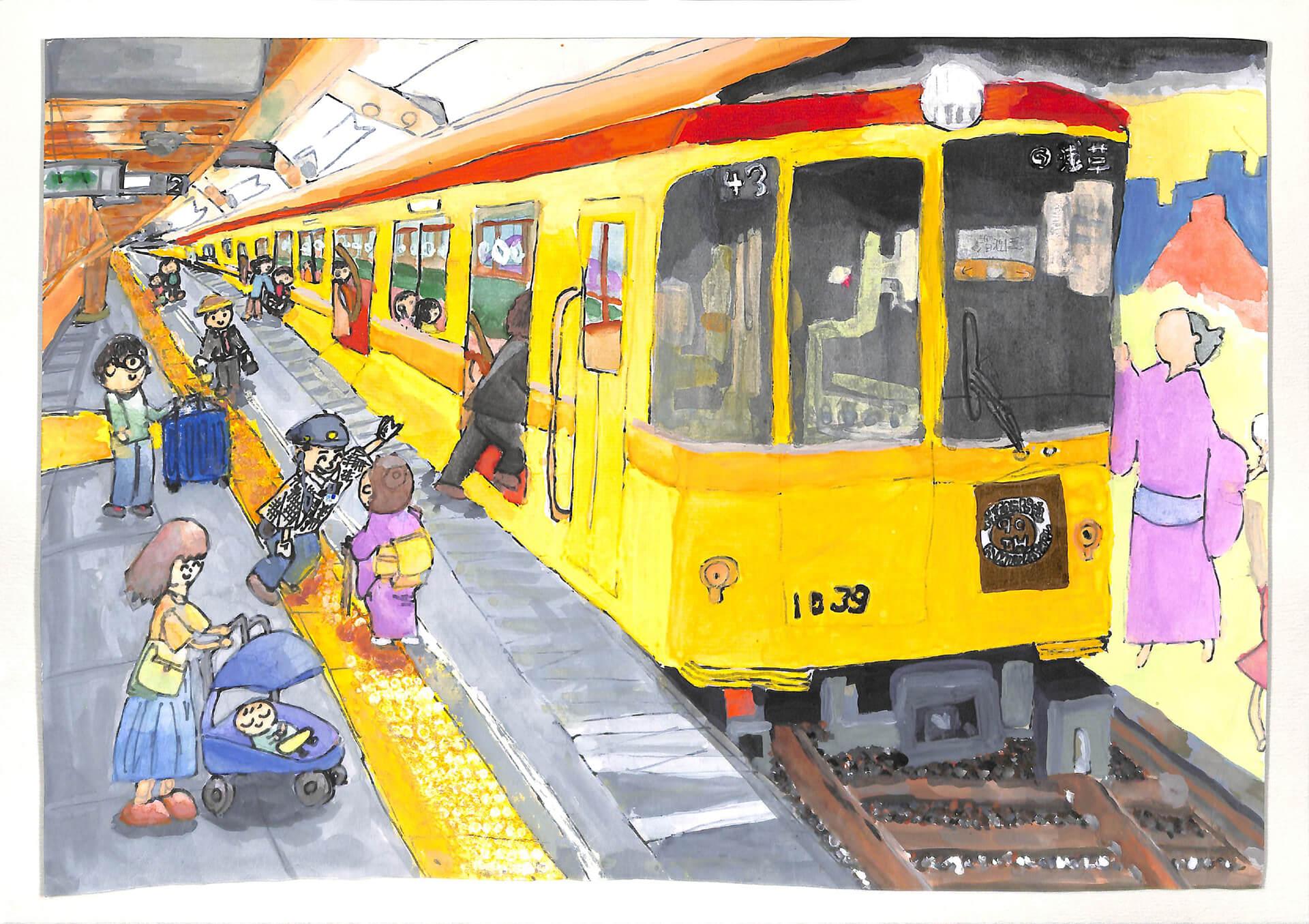 第38回メトロ児童絵画展