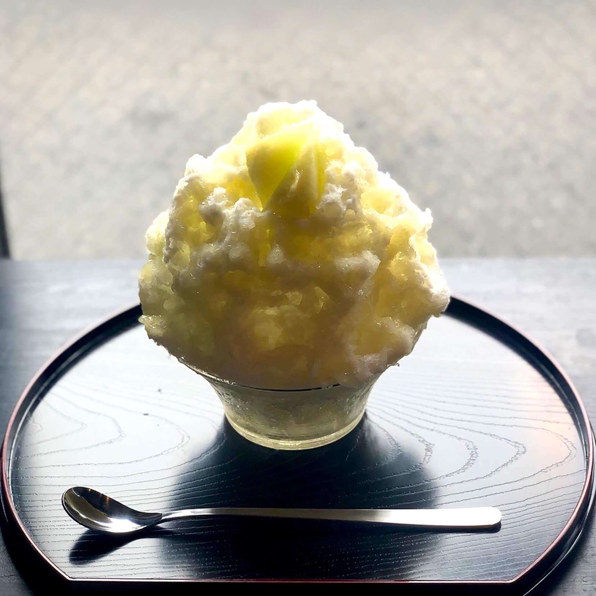 蔵元八義天然氷の「中町氷菓店」