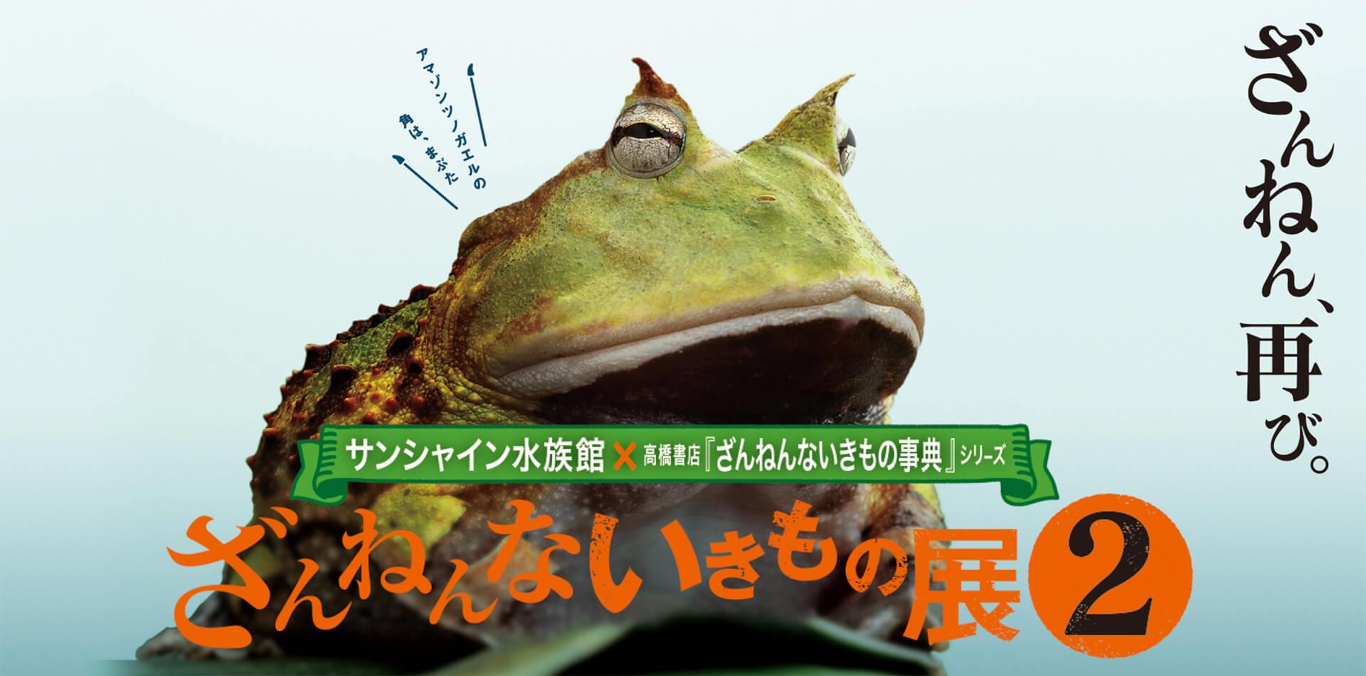 ざんねんないきもの展2
