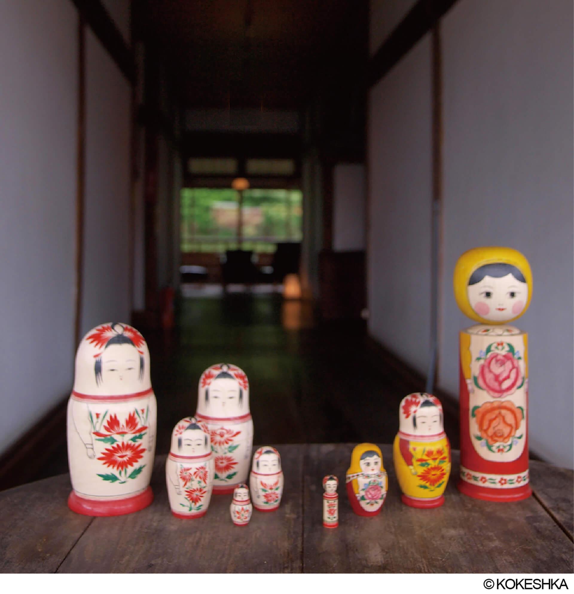 チェブラーシカとロシアのかわいい人形たち