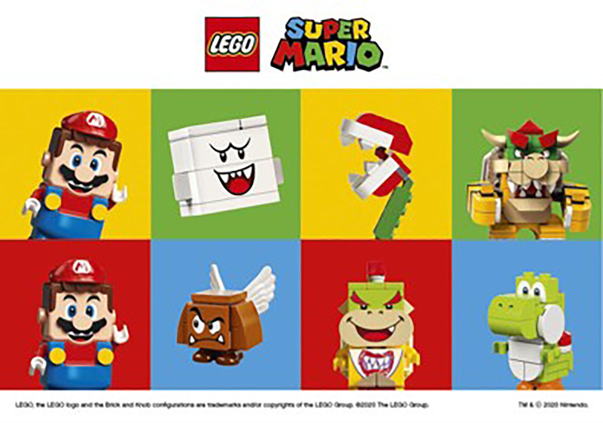レゴ(R)スーパーマリオTM 大ぼうけんギャラリーin ららぽーと・ラゾーナ