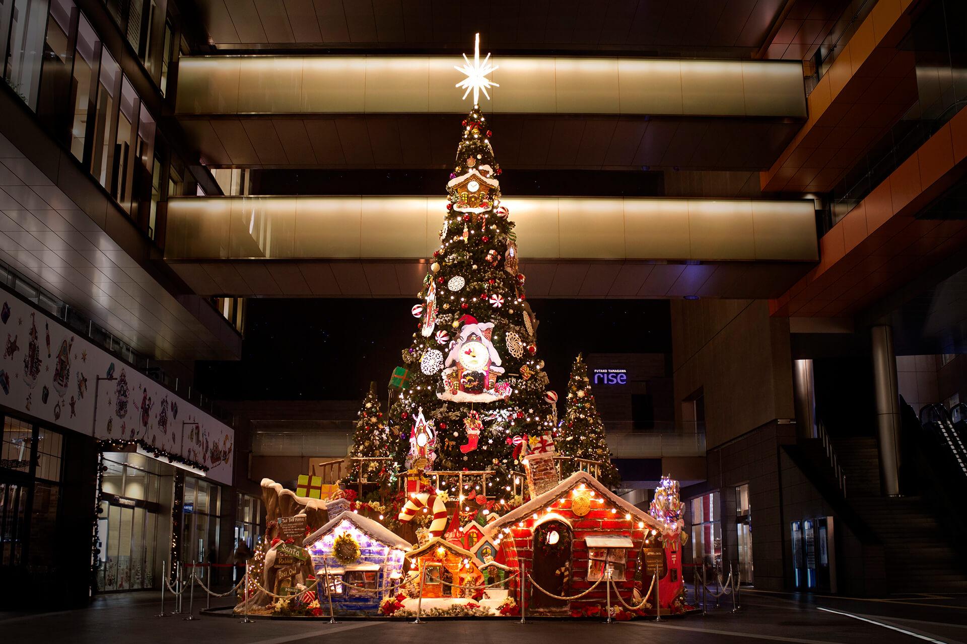 二子玉川ライズのクリスマス