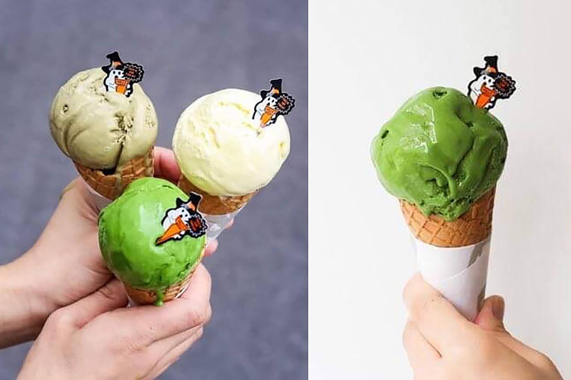 すすむ屋茶店・ハロウィンアイスクリームプレゼント