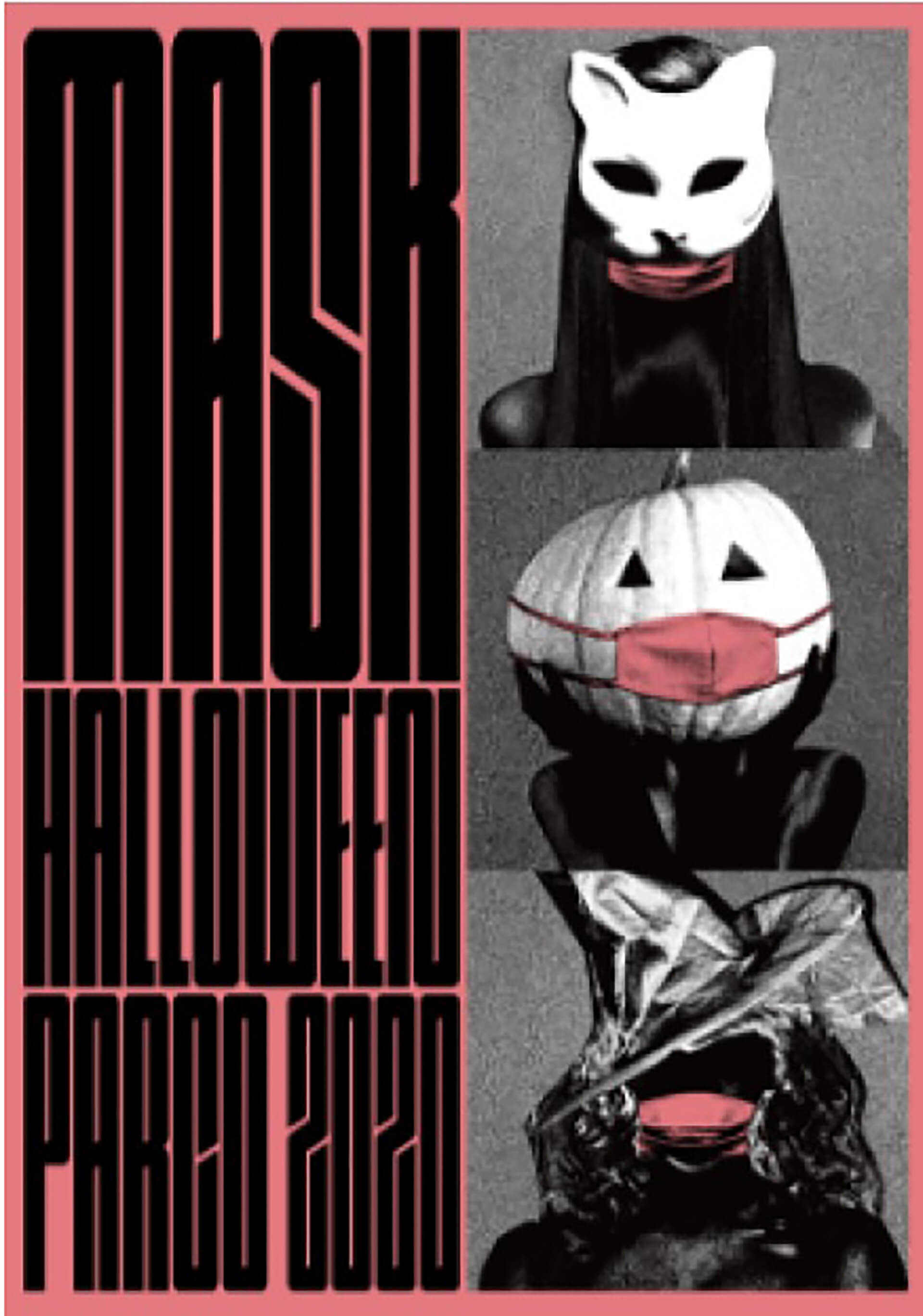 MASK HALLOWEEN PARCO 2020