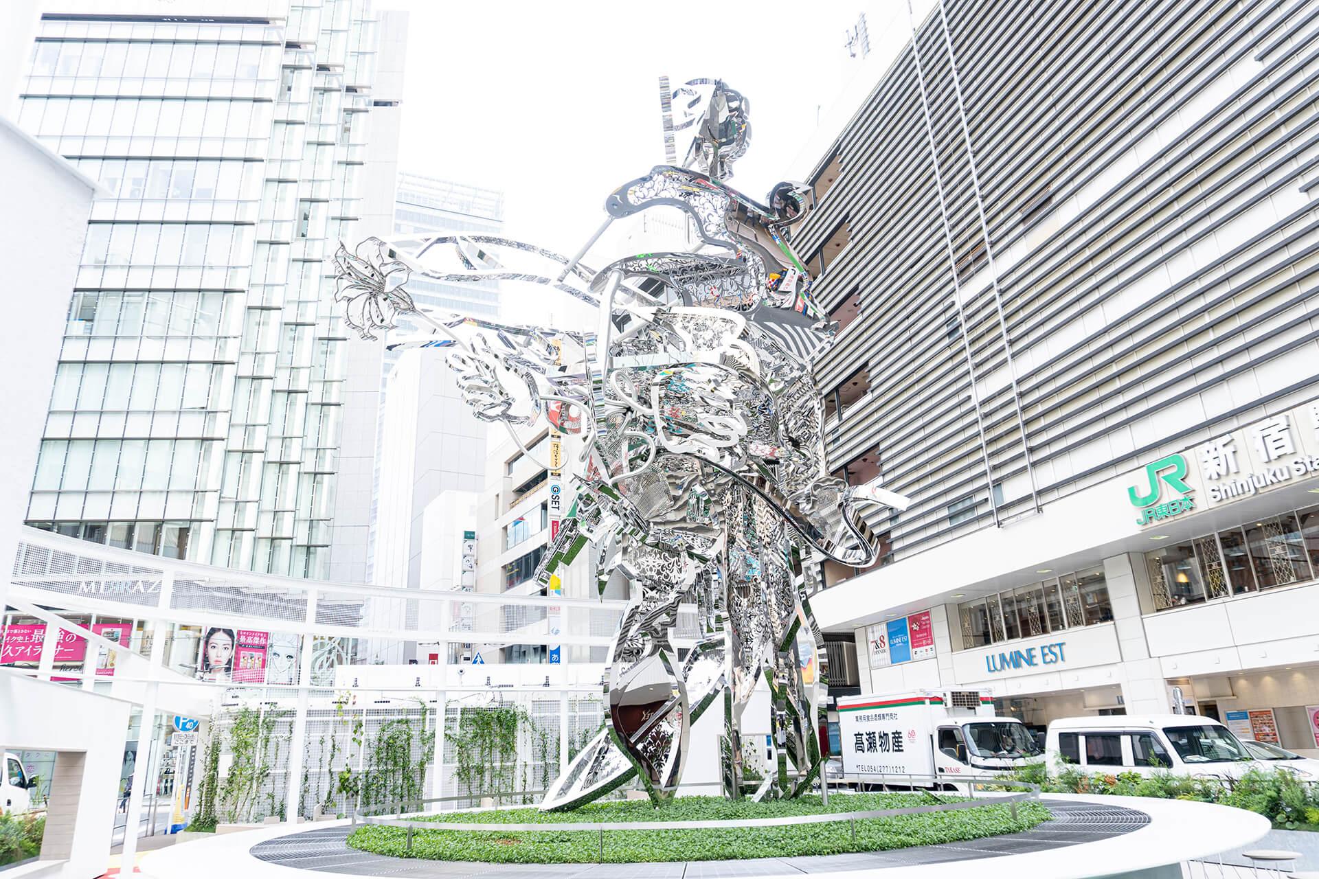 新宿東口駅前広場 ルミネ