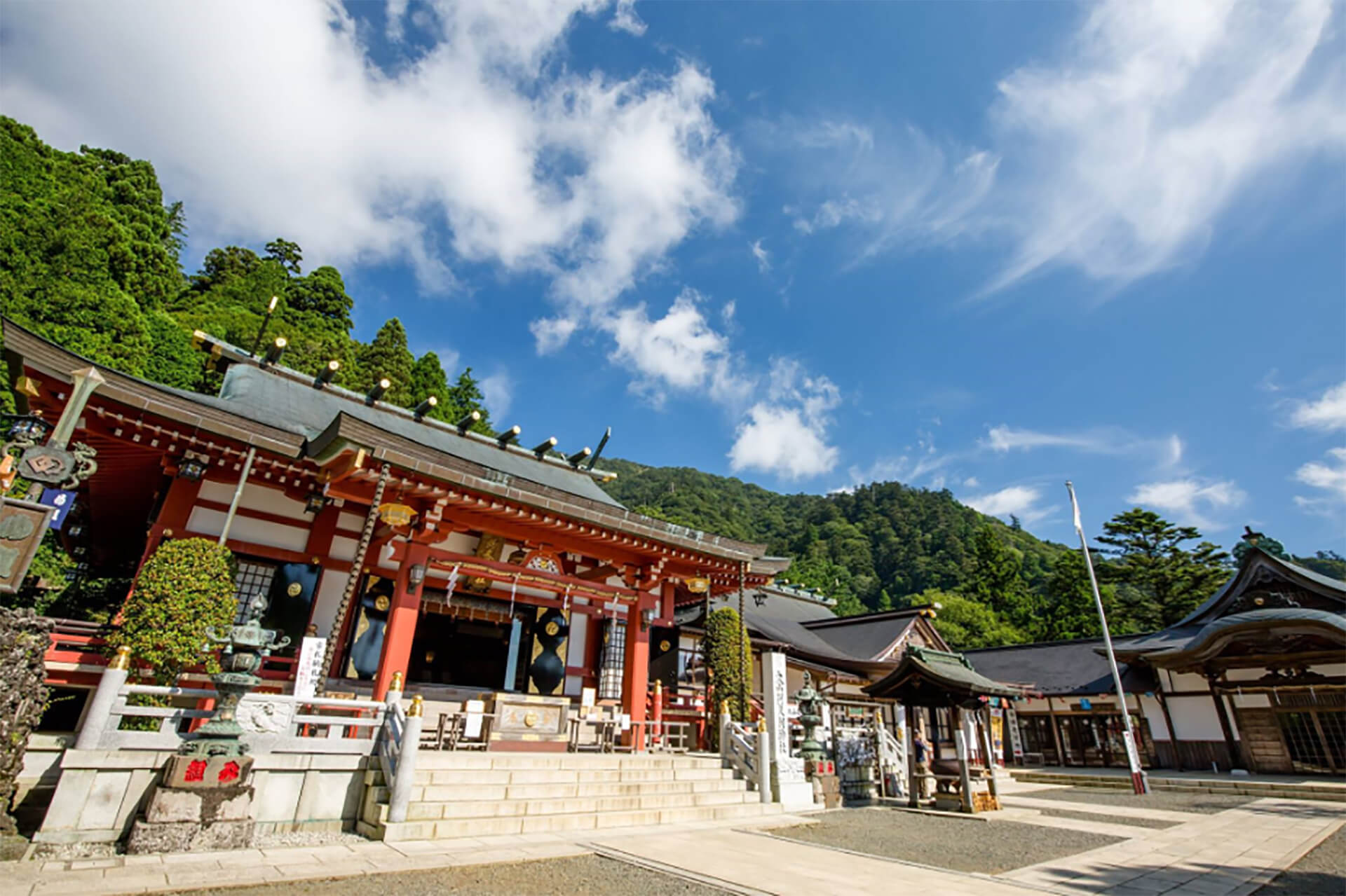 """大山詣り""""いま/むかし""""スタンプラリー"""