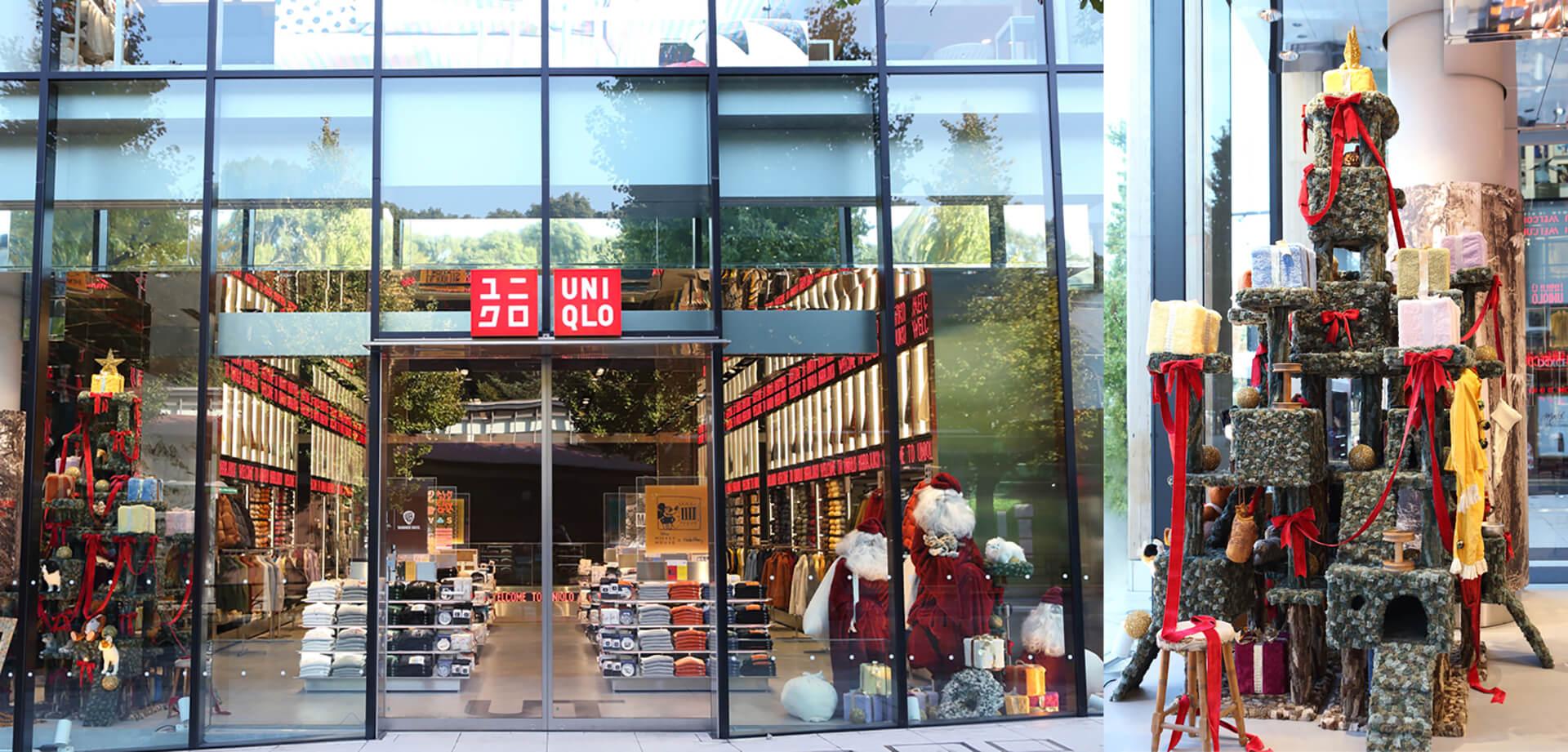 ユニクロ原宿店・クリスマスツリー