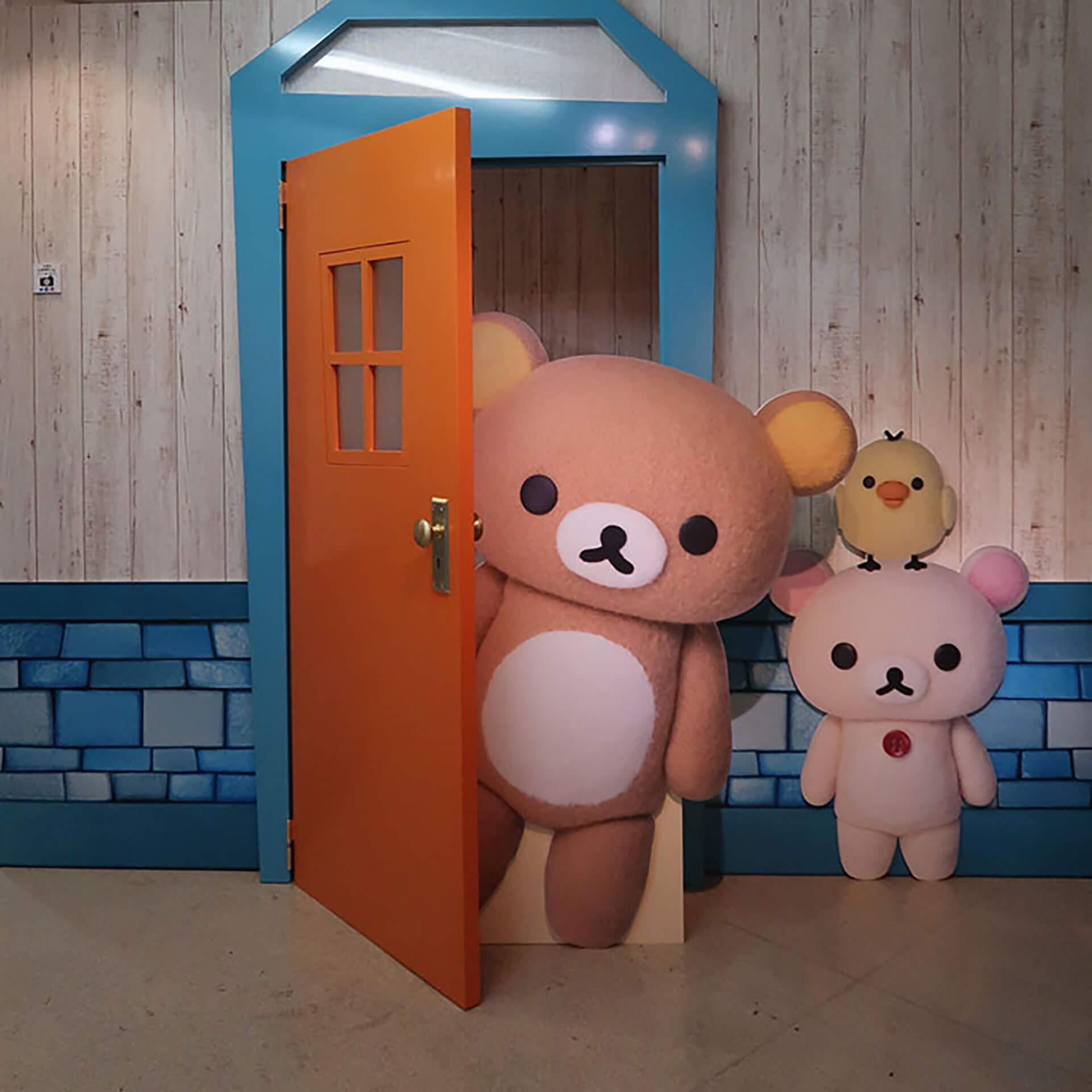 Netflix オリジナルシリーズ リラックマとカオルさん展