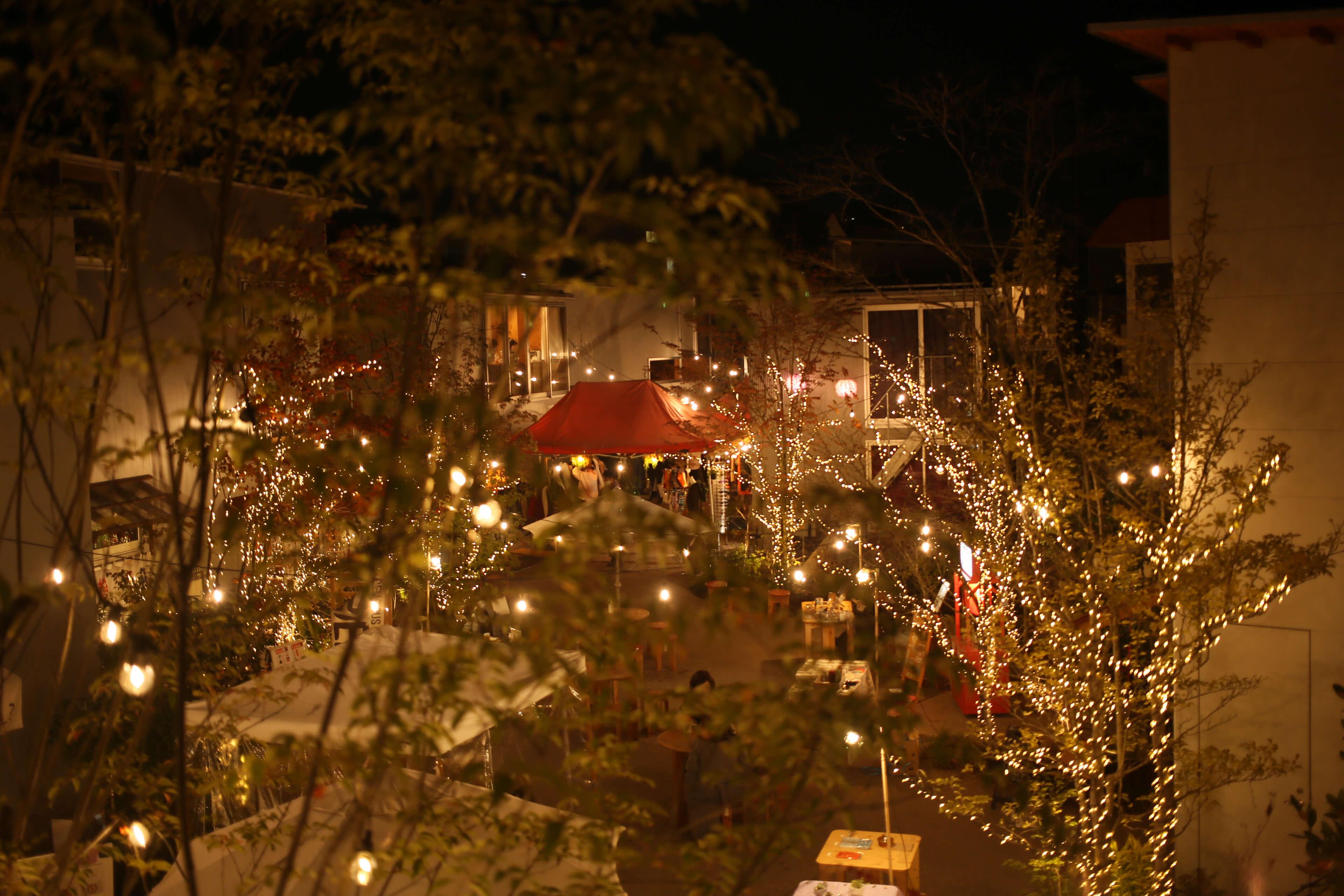 下北沢BONUS TRACK「Christmas Market」
