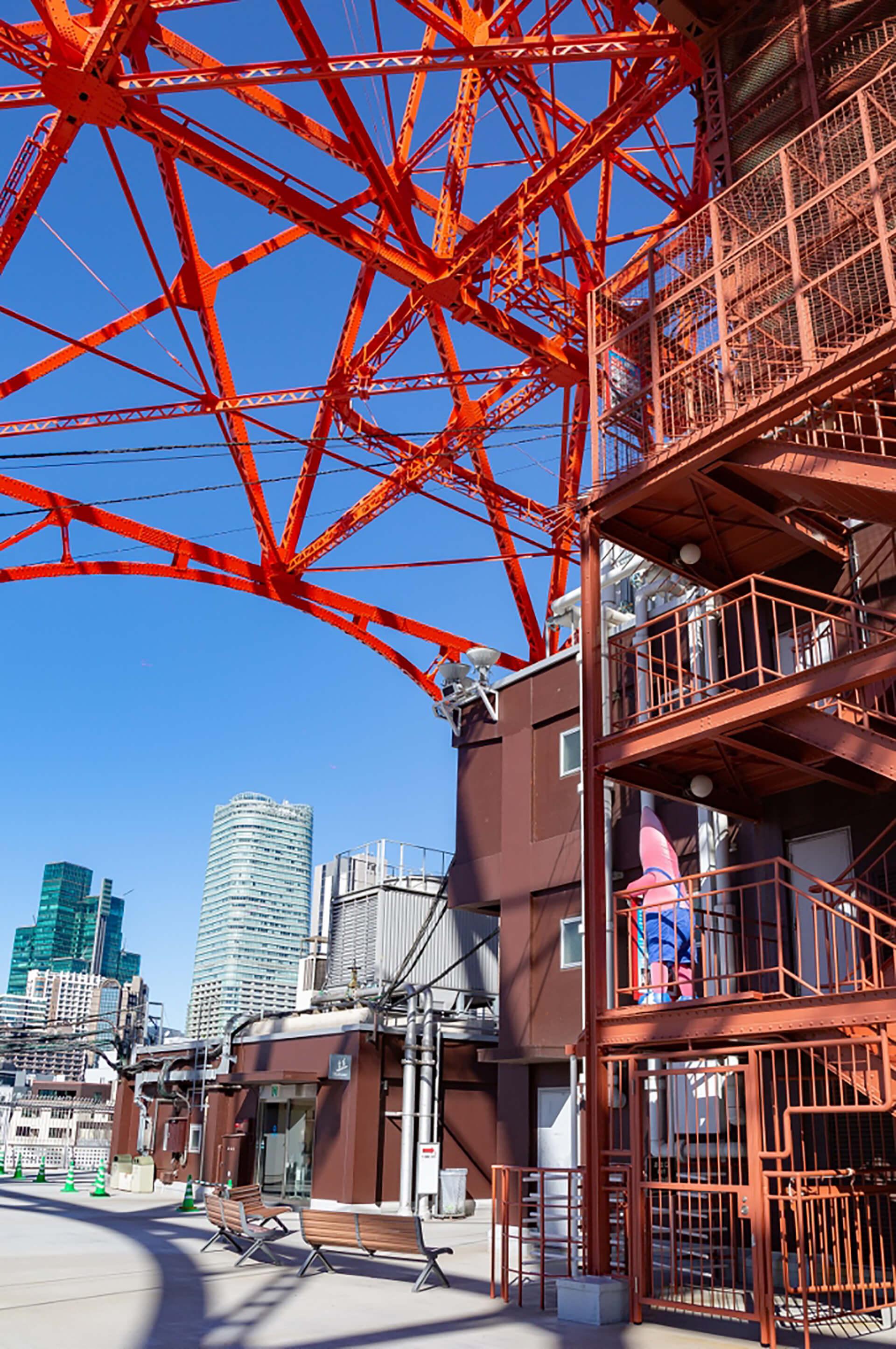 東京タワー「黙展(もくてん)」