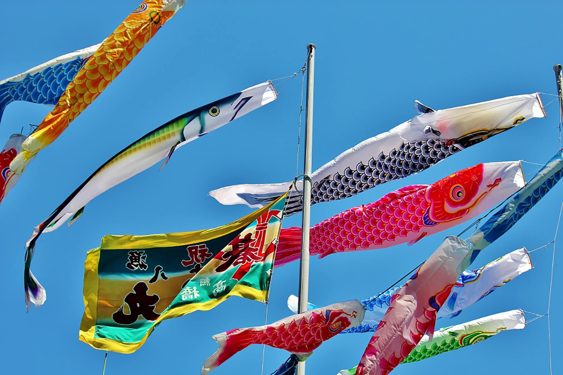 東京タワー 333匹の鯉のぼり