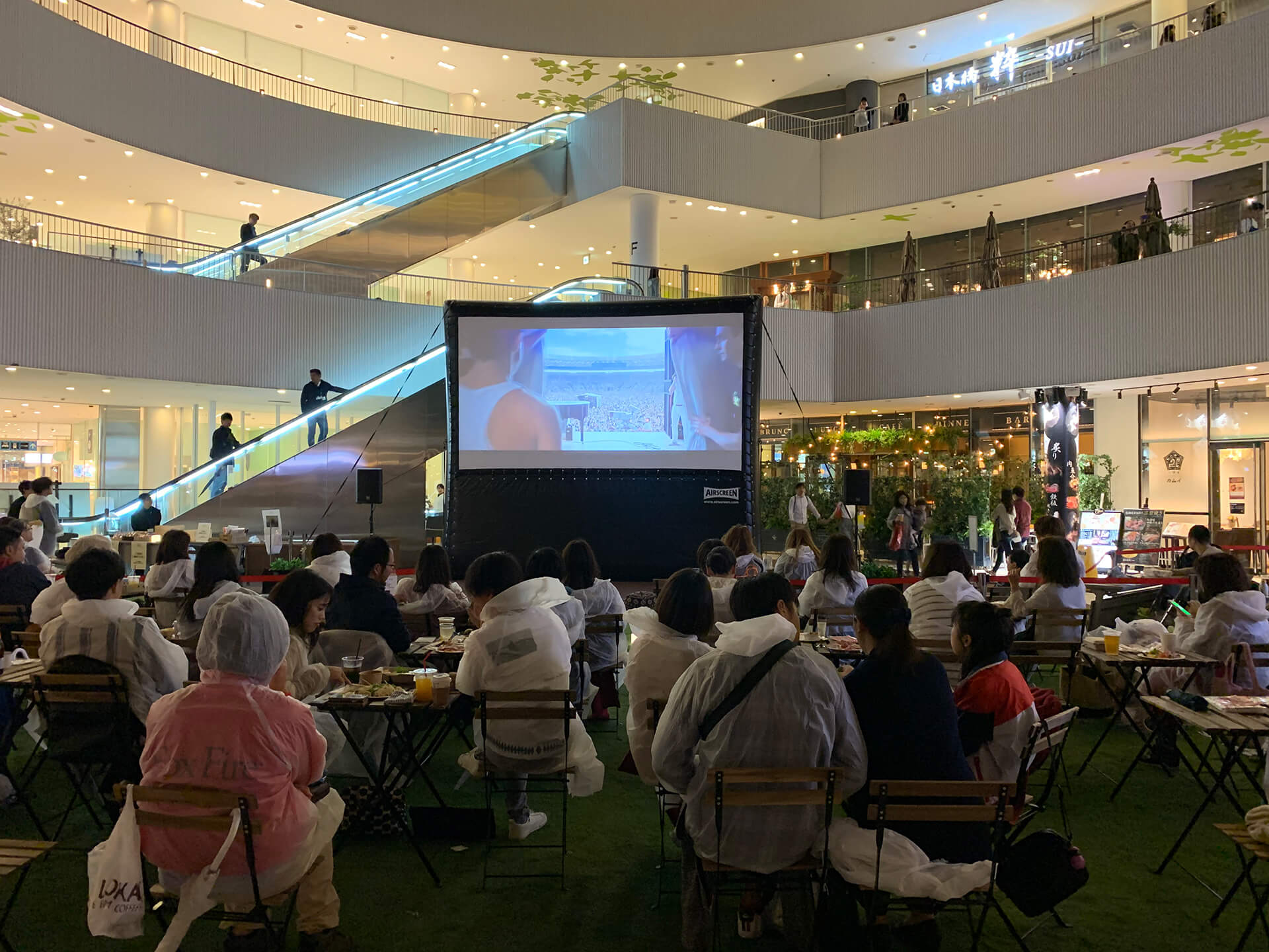 GW限定シアター『SEASIDEシーサイド CINEMAシネマ 2021』