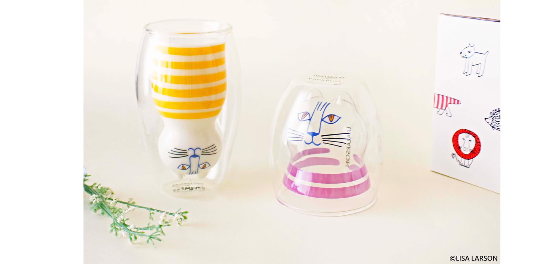 「リサ・ラーソン」二層グラス・グッドグラス・ロフト