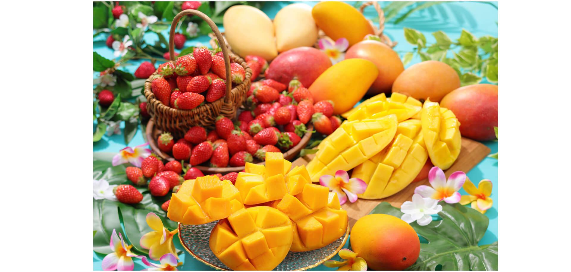 フルーツパラダイス『マンゴー食べ放題』~いちごも!メロンも!大満足のフルーツ食べ放題~