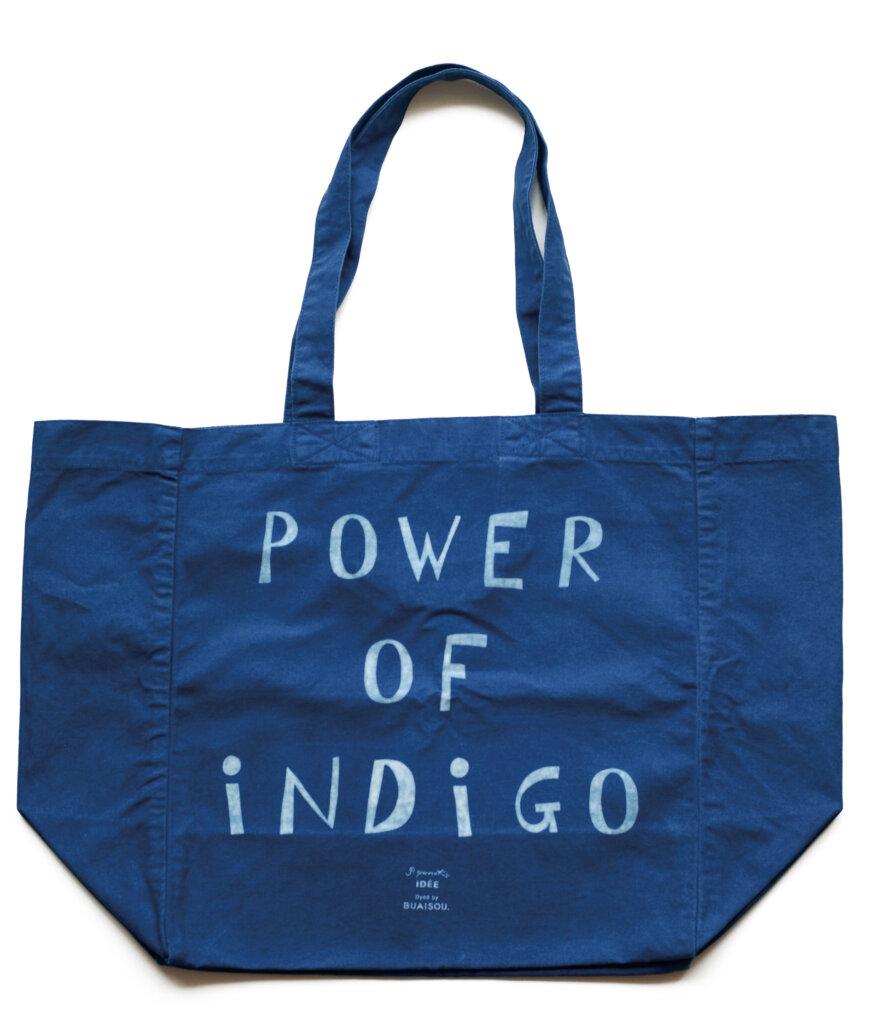 POWER OF INDIGO worked by BUAISOU