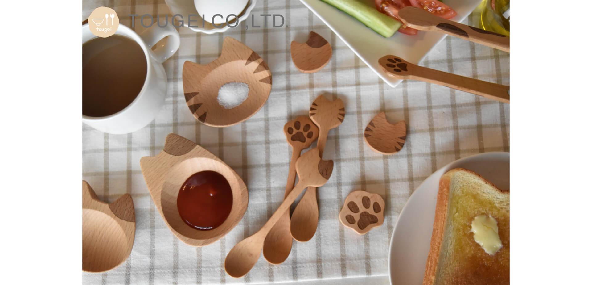 ヴィレッジヴァンガード「木製キッチン雑貨」