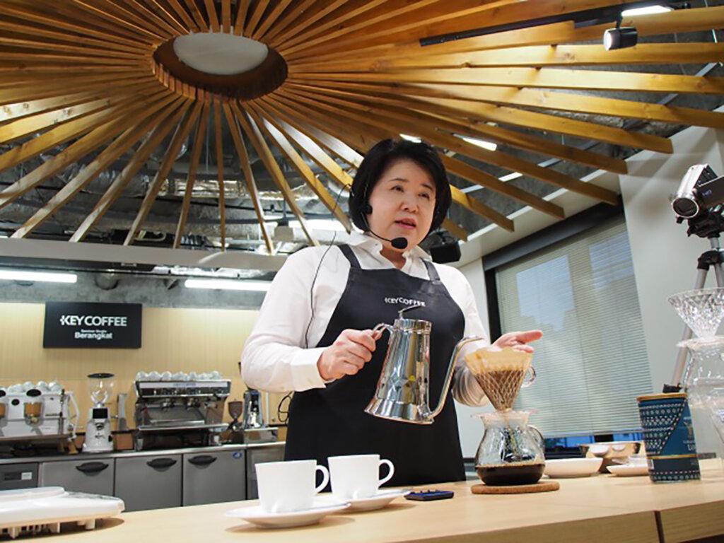 キーコーヒー ライブセミナー