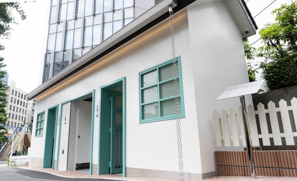 THE TOKYO TOILET 神宮前公衆トイレ NIGO