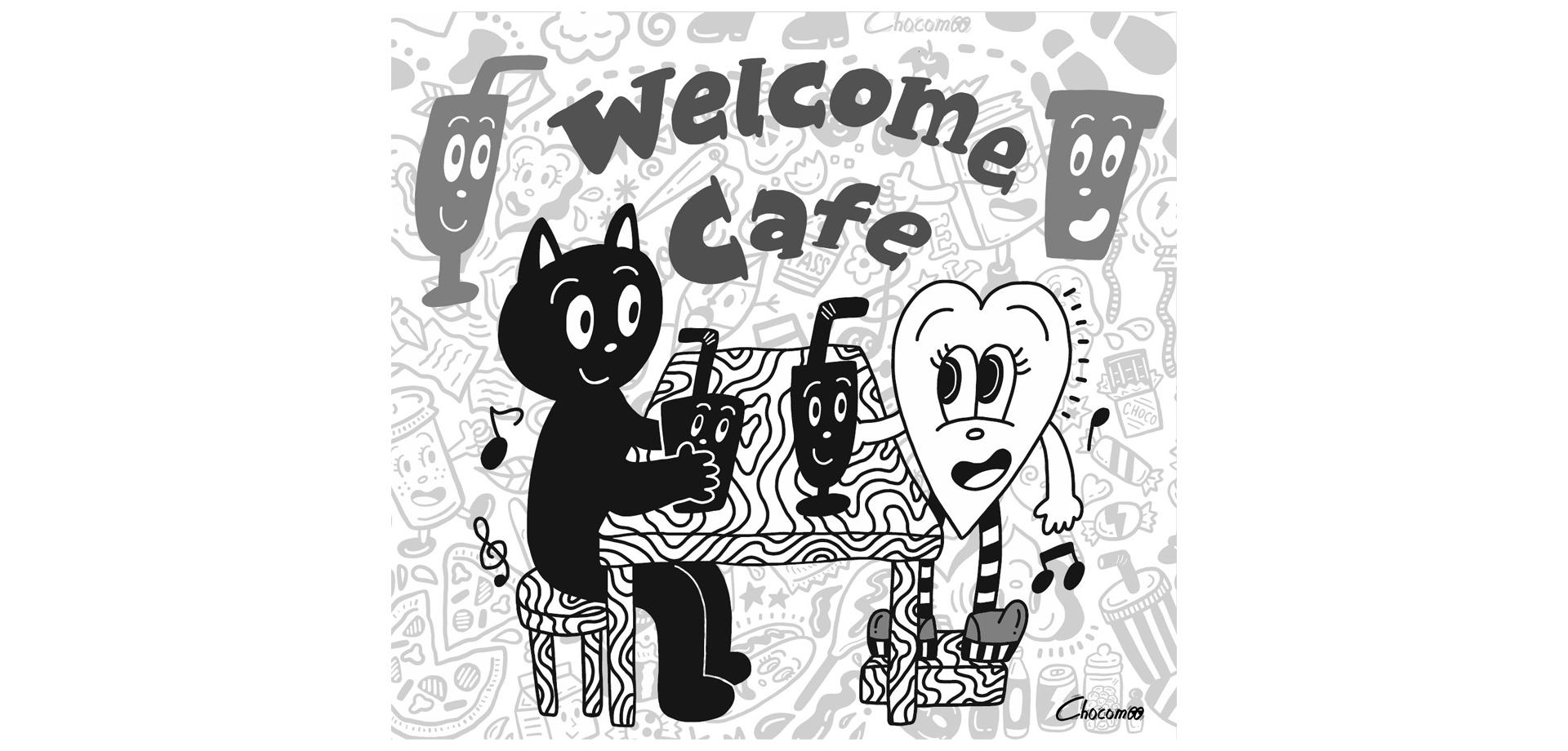 コラボカフェ「Welcome cafe by.Chocomoo」