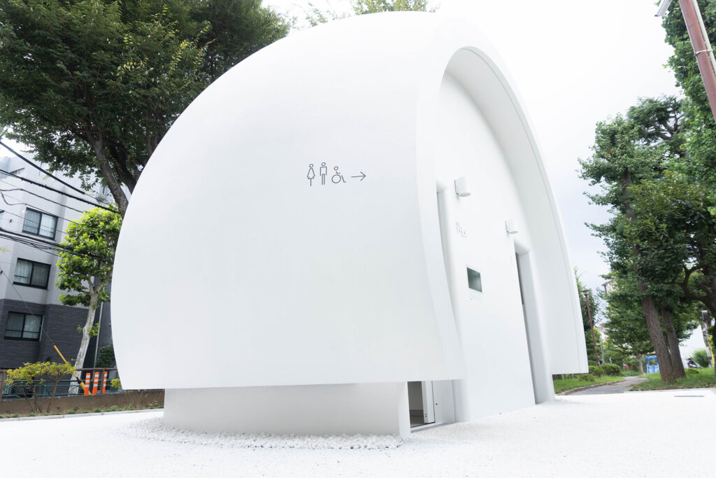 TOKYO TOILET 東京トイレ 幡ヶ谷 七号通り公園トイレ