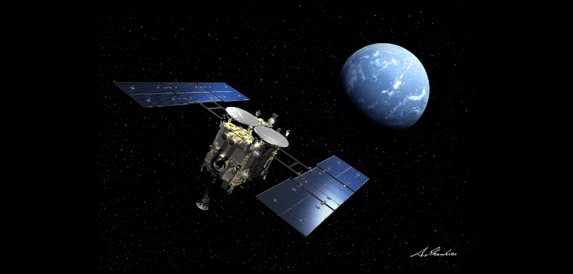 ロマンスカーミュージアム「小惑星探査機『はやぶさ2』の旅×ロマンスカーの旅」