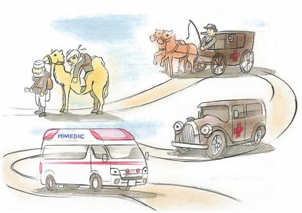トヨタ「救急車ってどんな感じ?」